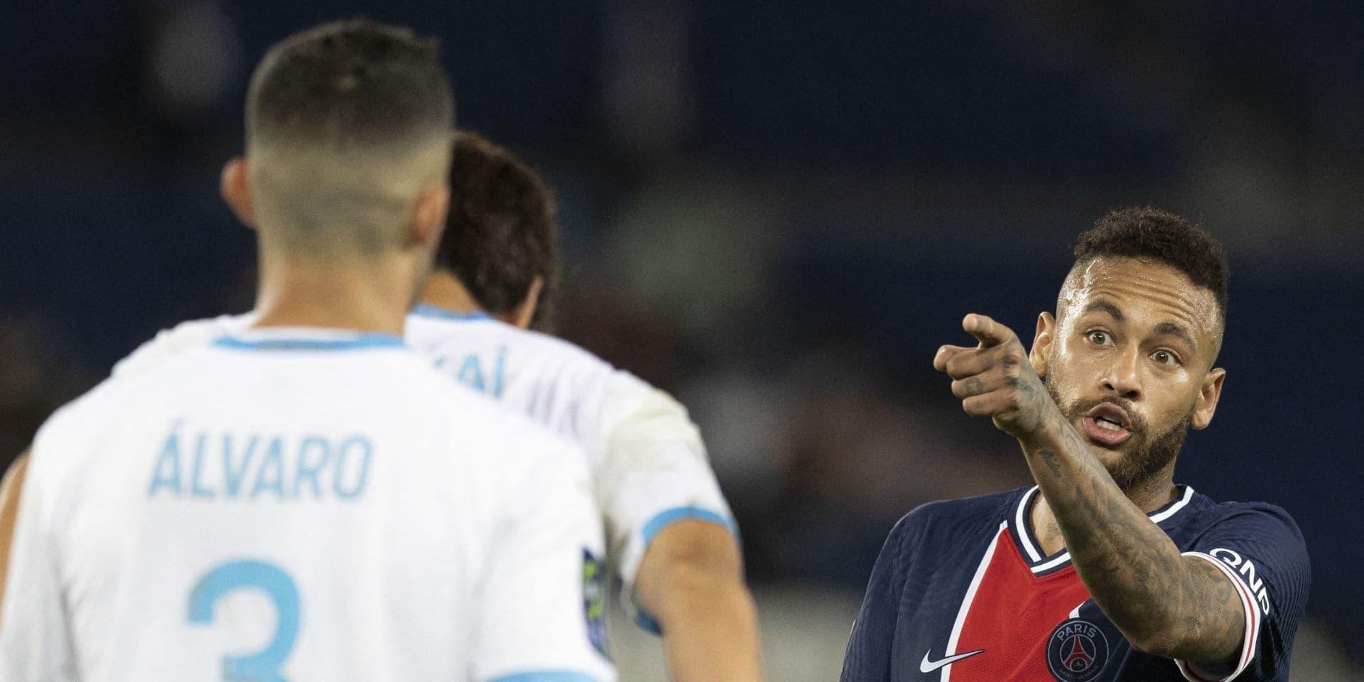 Neymar fait son mea culpa et lance un appel au calme après le houleux PSG-OM