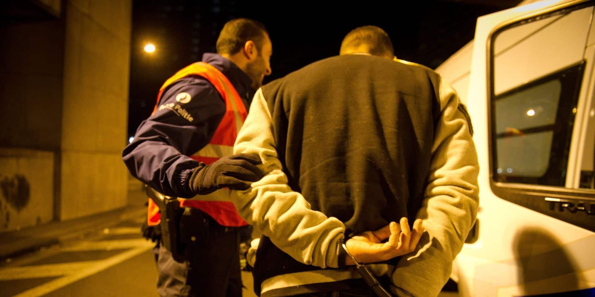 Liège : contrôlé avec... 700 grammes de cannabis sur lui !