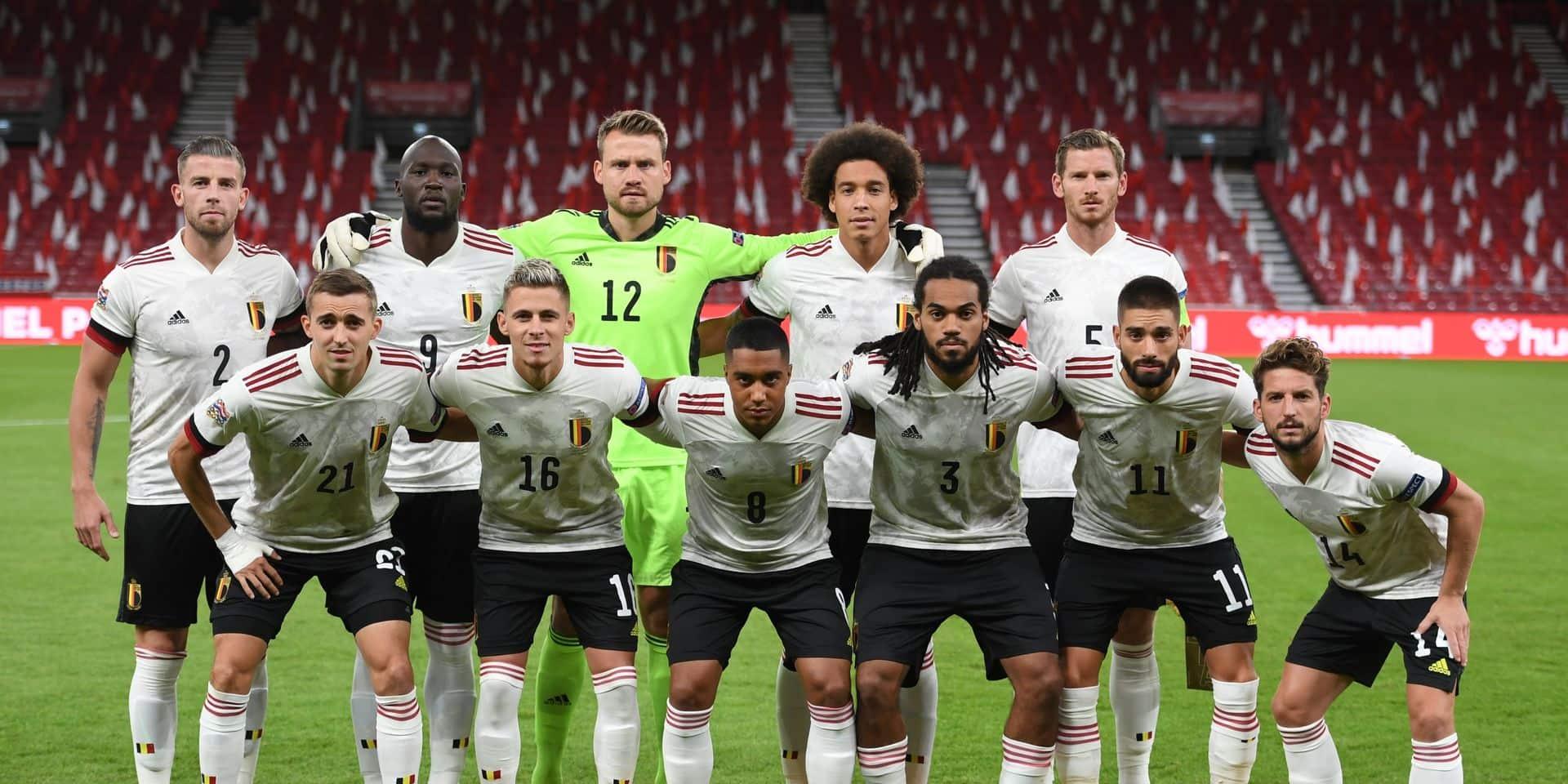 Les Diables Rouges, bien décidé à ramener la coupe de l'UEFA