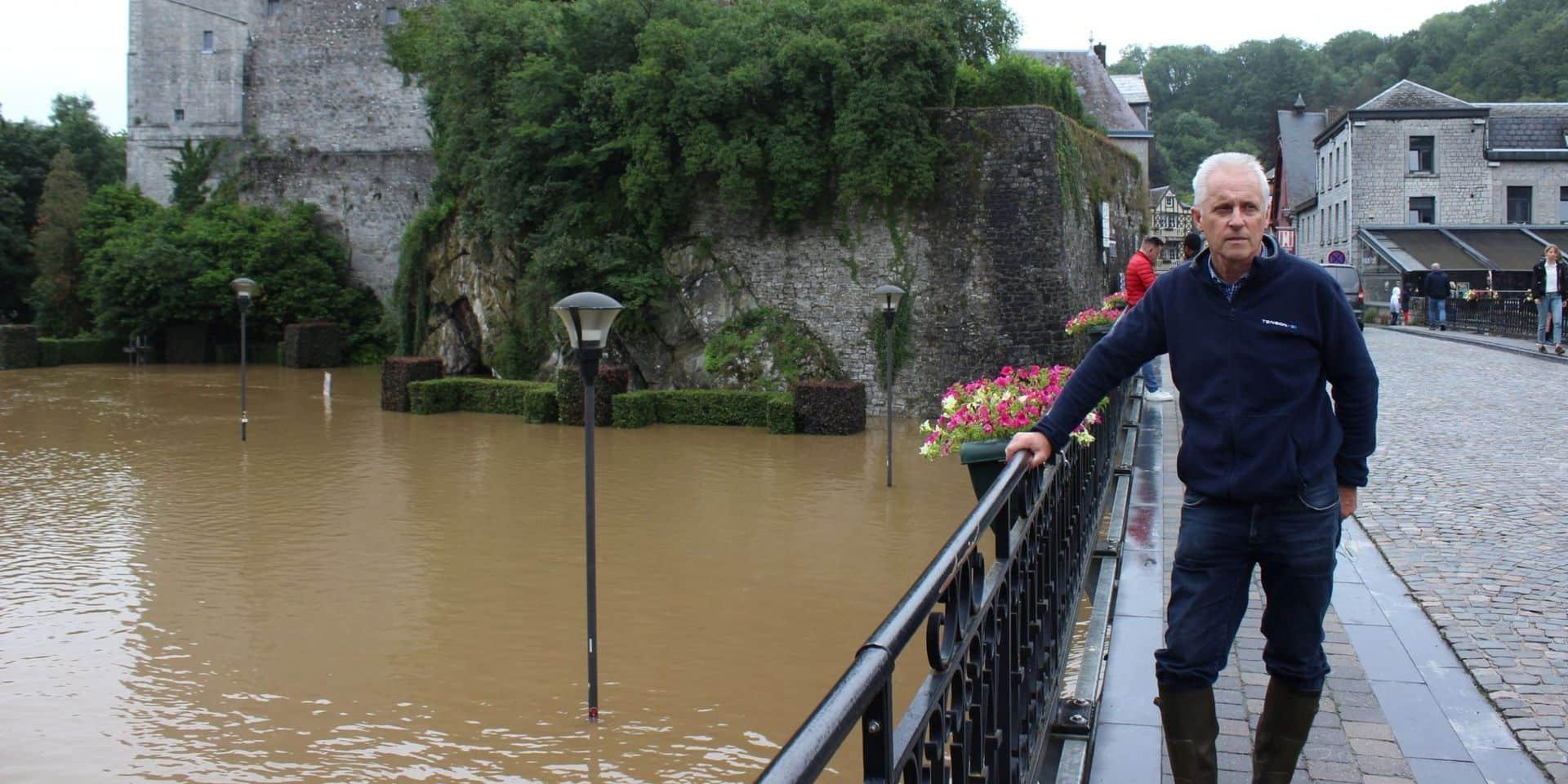 """Inondations à Durbuy: """"Nous regrettons le flux de curieux"""""""