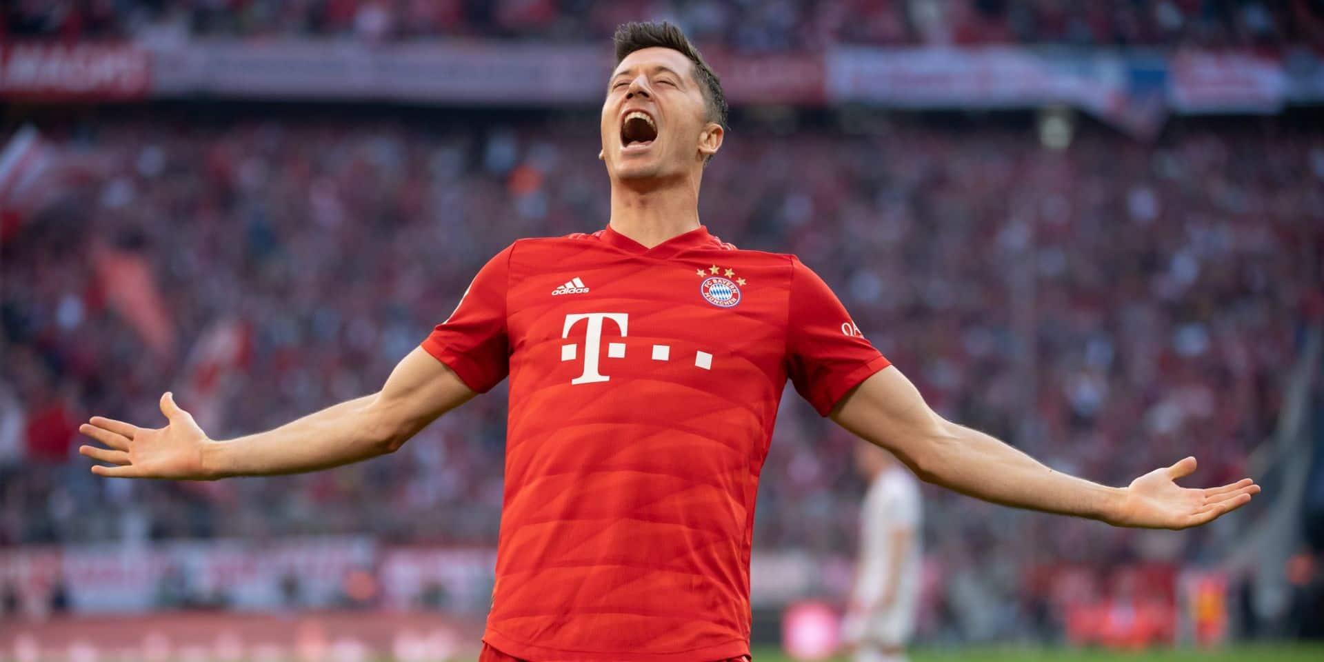 Record en Bundesliga pour Lewandowski, buteur à chacune des 9 premières journées