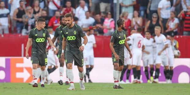 Le Standard sombre à Séville (5-1): tous les buts en vidéos - La DH