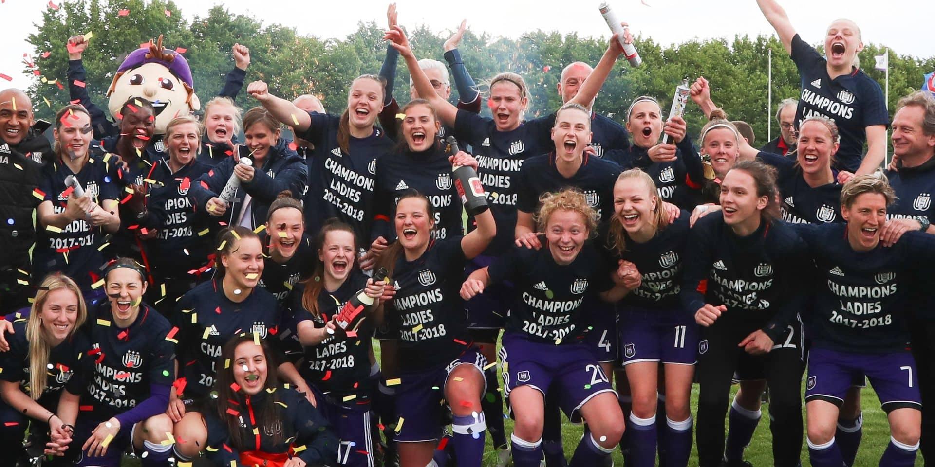 L'équipe féminine d'Anderlecht pourrait disparaître !