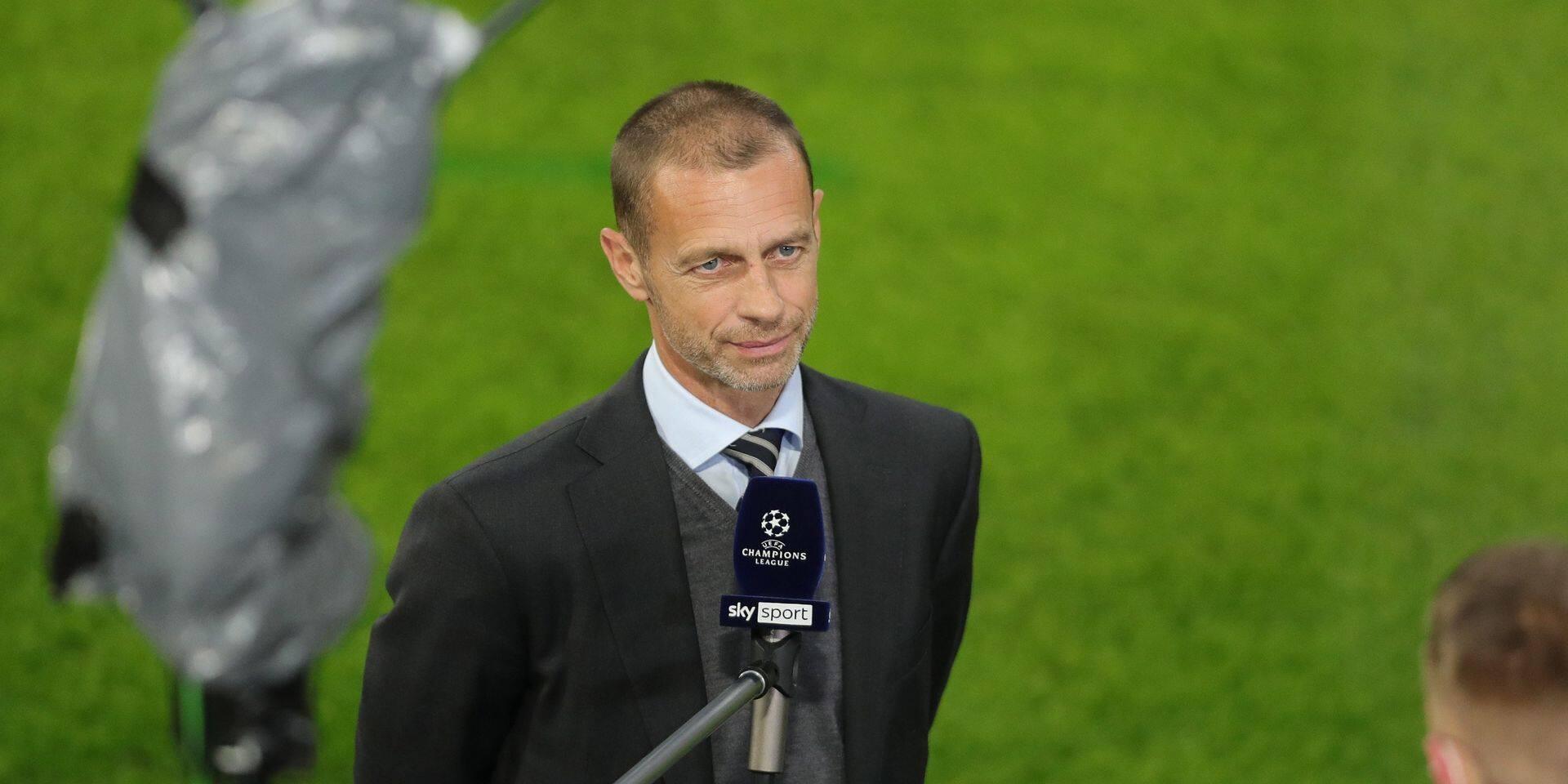 """Aleksander Ceferin, le président de l'UEFA: """"Nous ne savions pas que nous avions des serpents près de nous"""""""