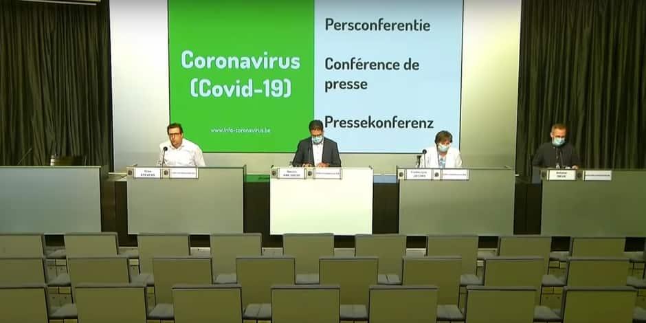 """Coronavirus en Belgique: """"La croissance exponentielle semble interrompue"""""""