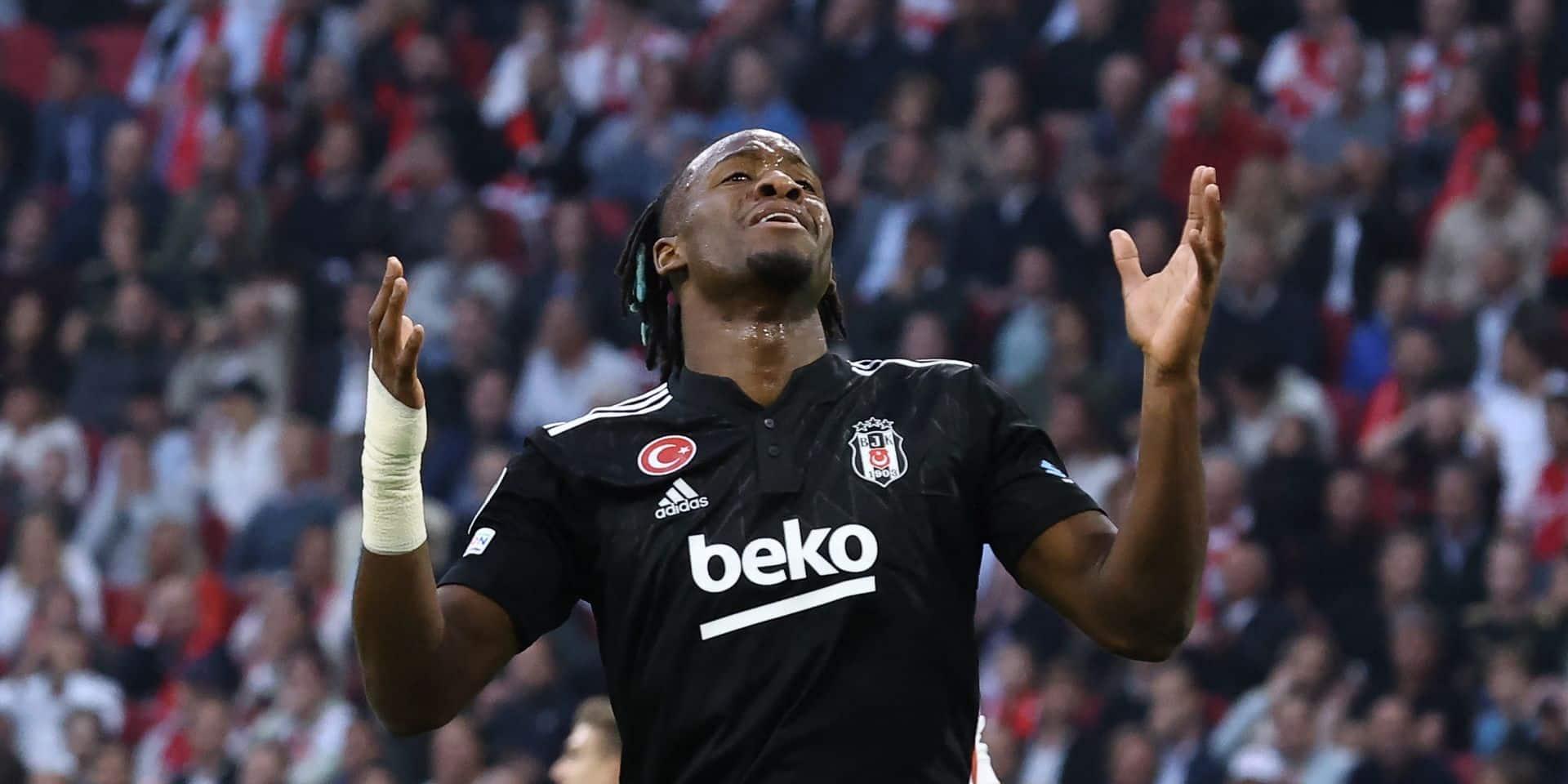 Ligue des champions: Batshuayi et Besiktas s'inclinent à l'Ajax, le Shakhtar et l'Inter partagent l'enjeu