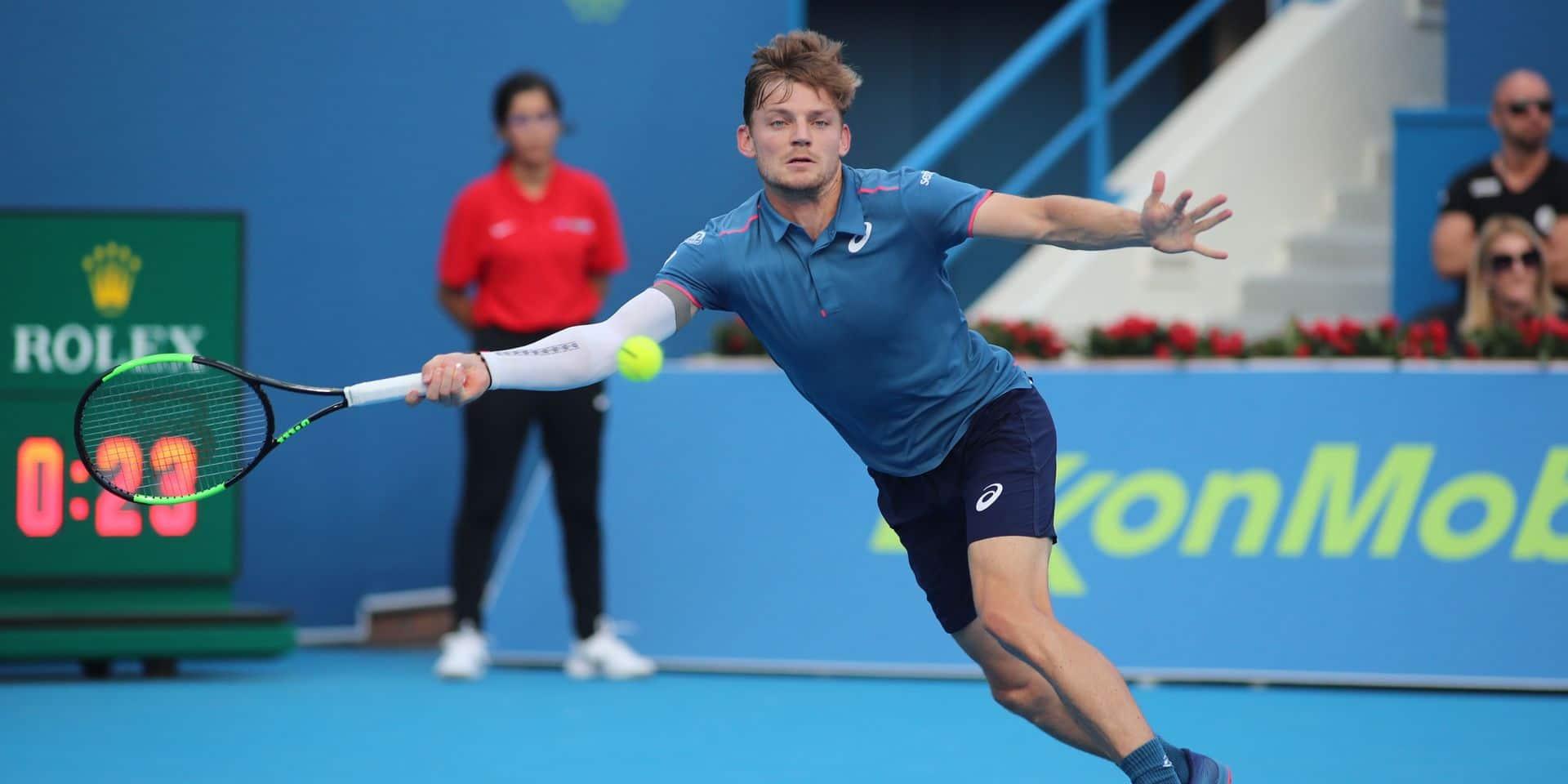 Australian Open: tirage abordable pour Goffin, Darcis pas verni