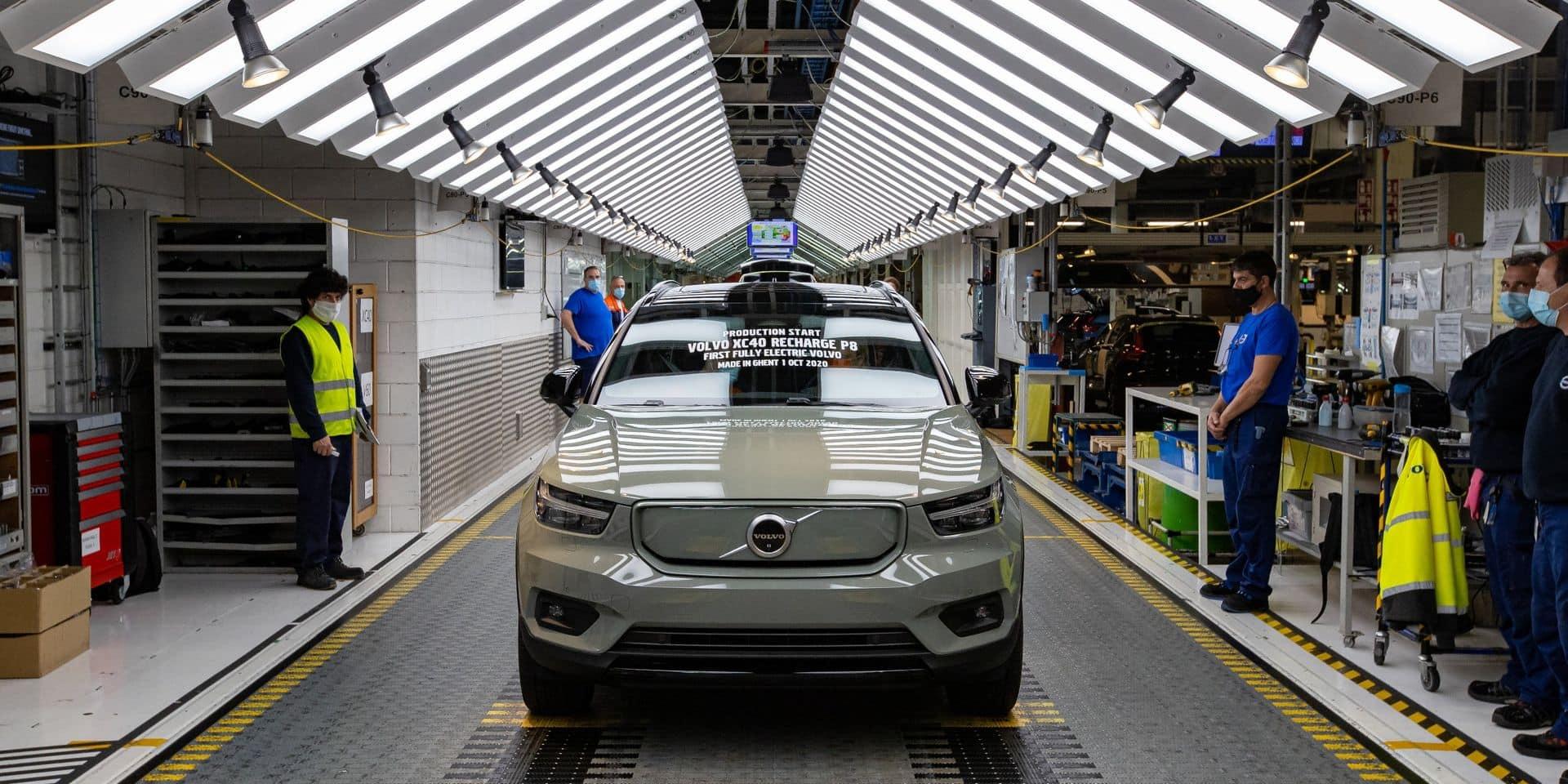 Début de la production des Volvo XC40 électriques