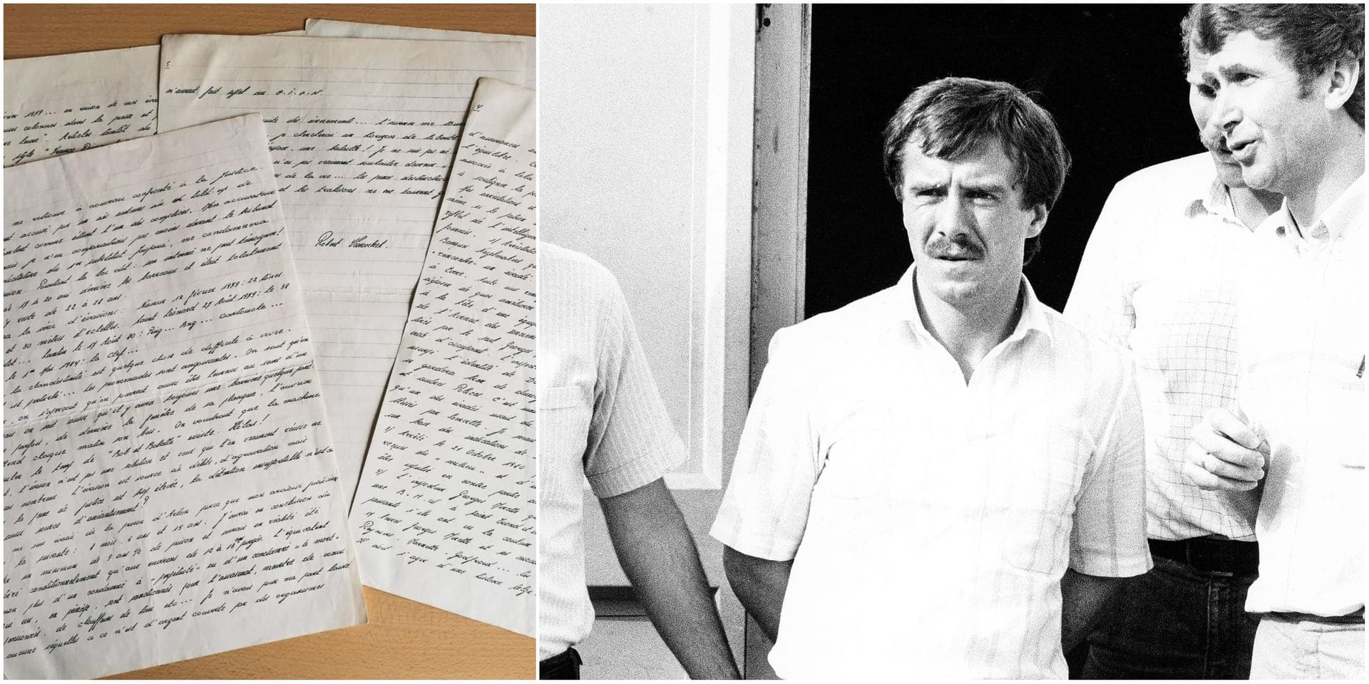 Les documents exclusifs de La DH : été 1984, Robert Vanoirbeek, roi de l'évasion, nous écrit de prison