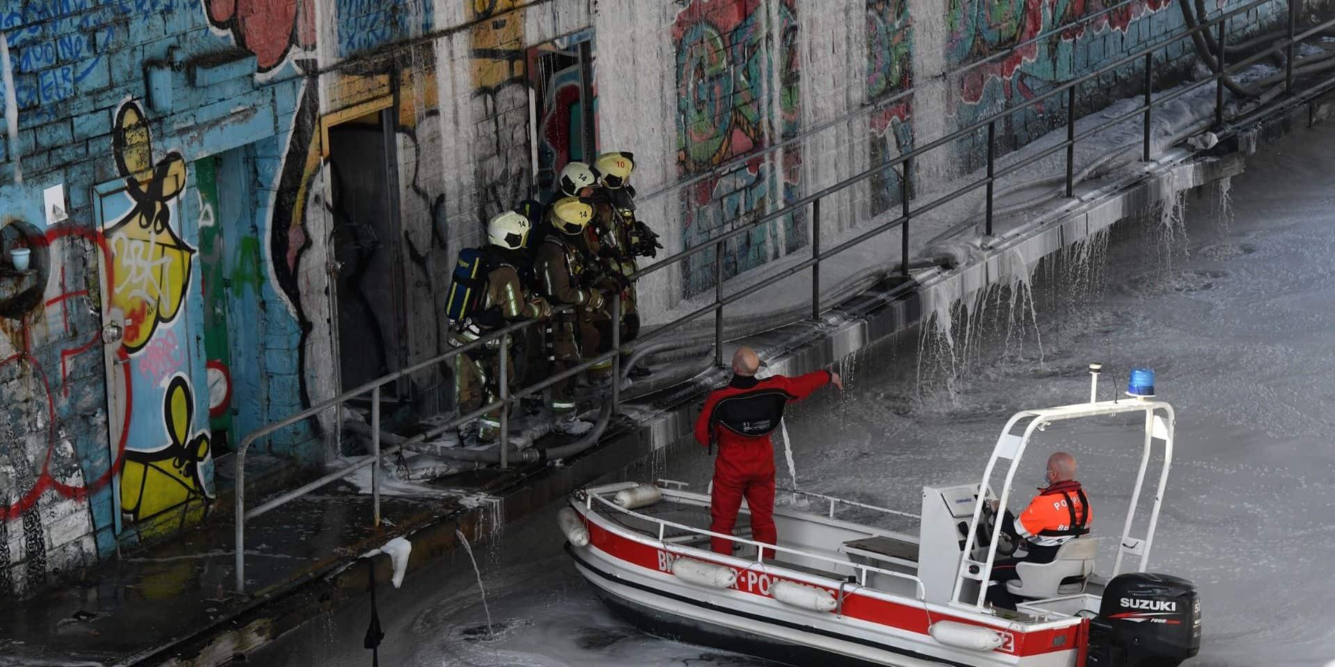 Bruxelles : le pont Sainctelette fermé jusqu'à nouvel ordre