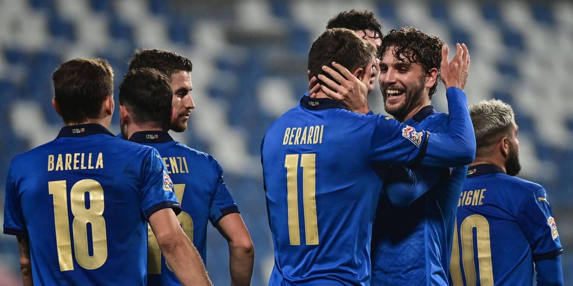 Nations League: l'Italie en pole en battant la Pologne, les Pays-Bas s'imposent face à la Bosnie