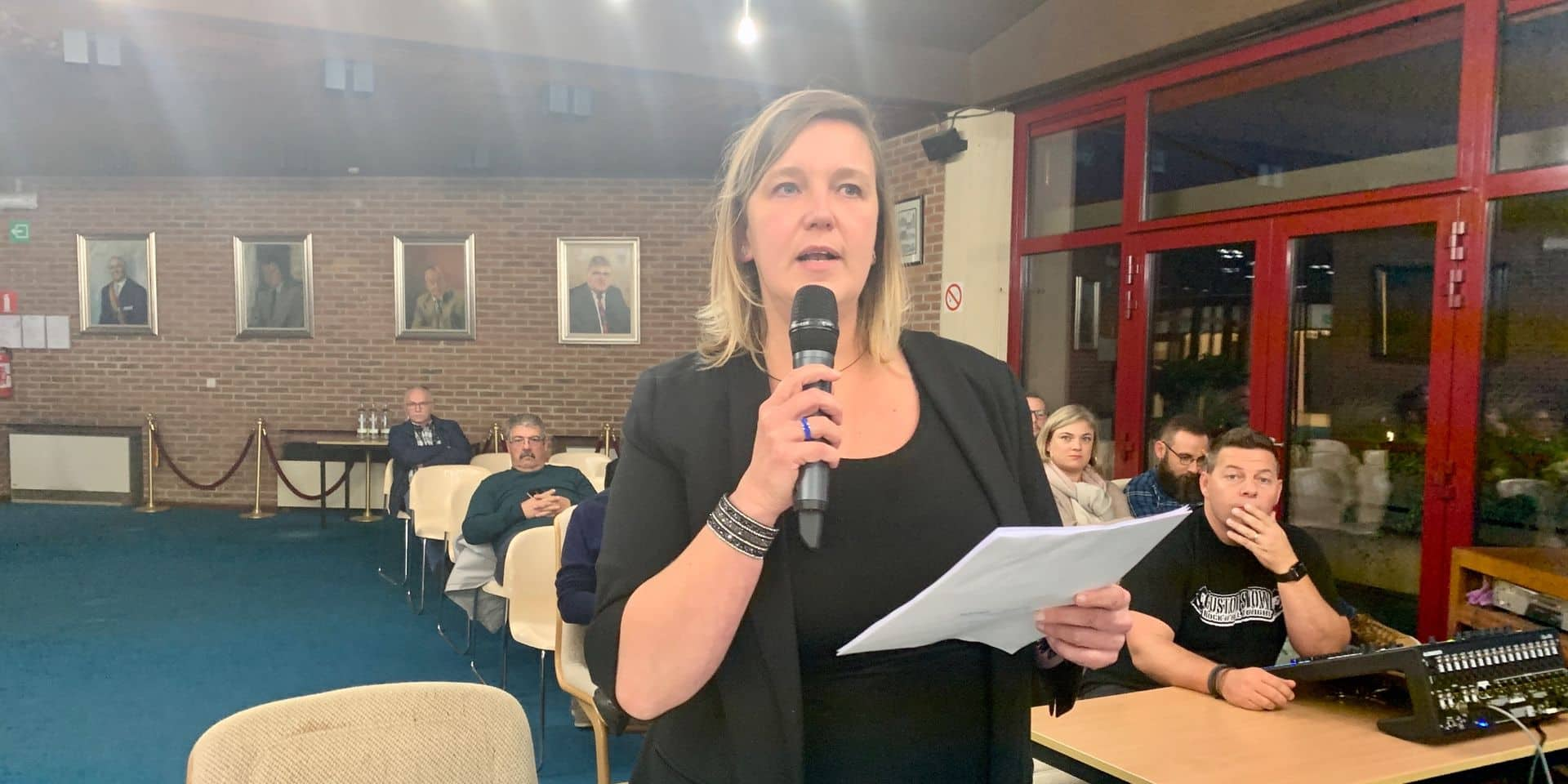 Interpellation citoyenne au conseil communal de Sambreville