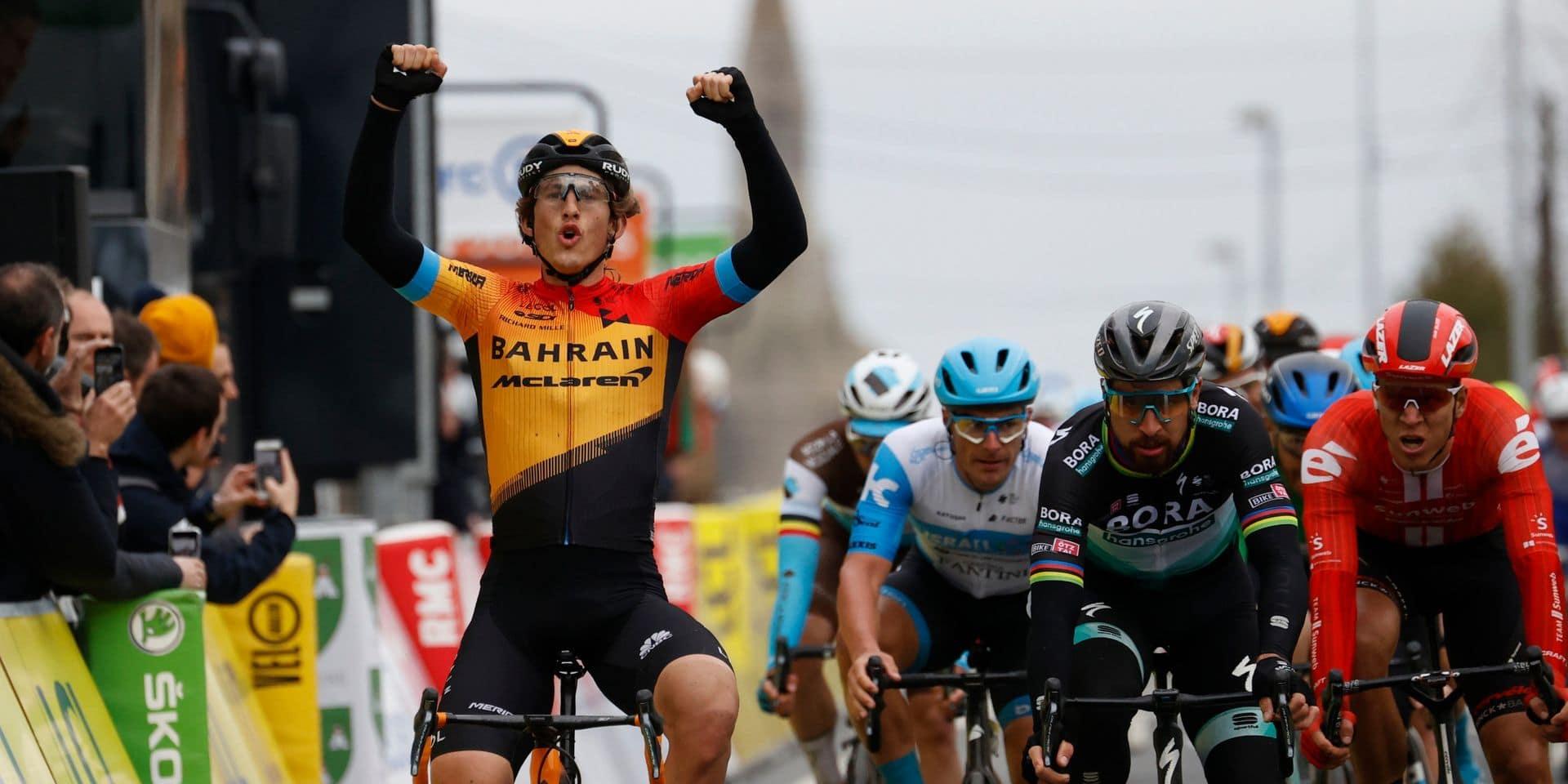 Paris-Nice: Ivan Garcia Cortina crée la sensation sur la 3e étape