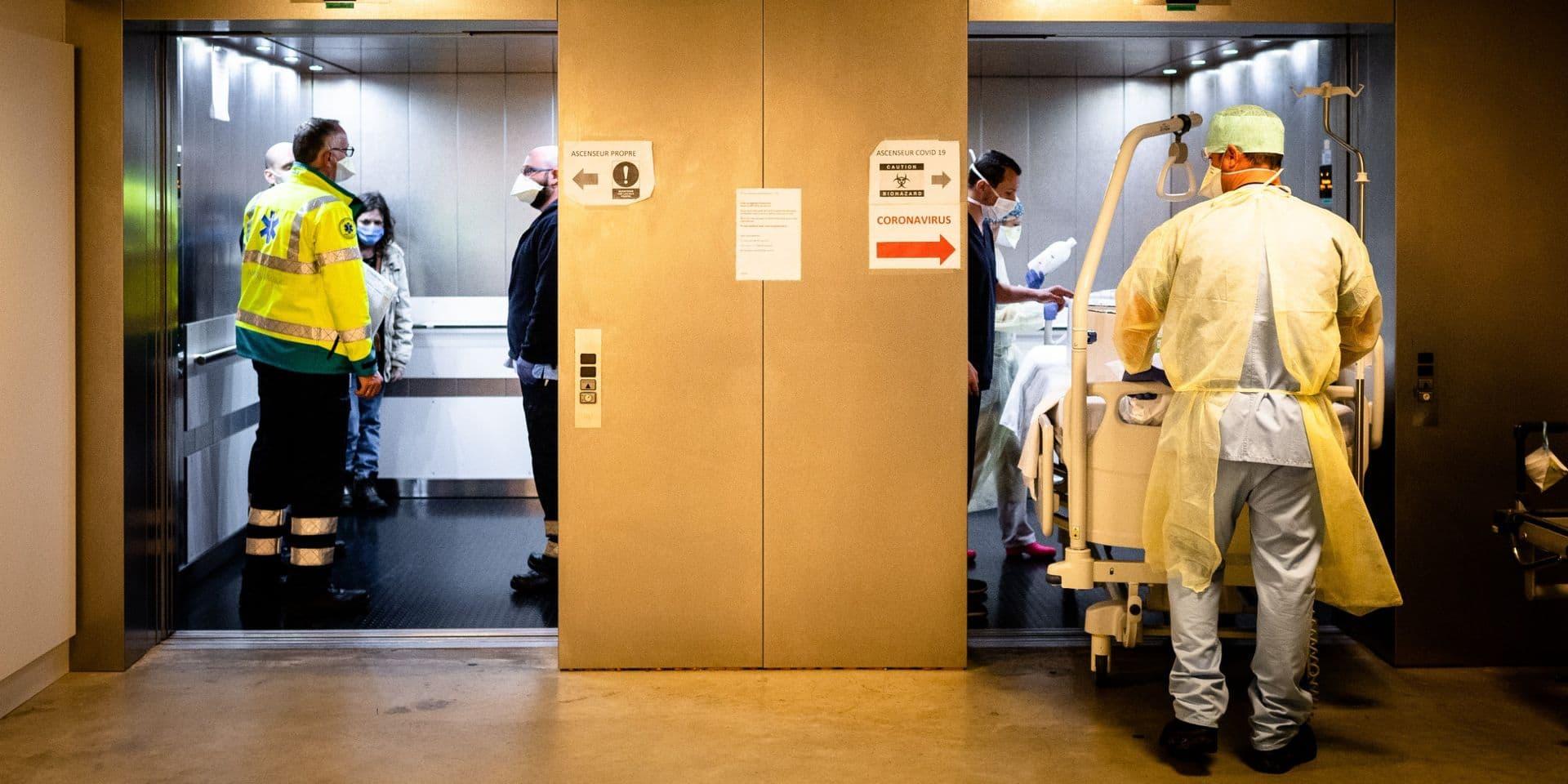 Coronavirus : Pression accrue dans les hôpitaux bruxellois