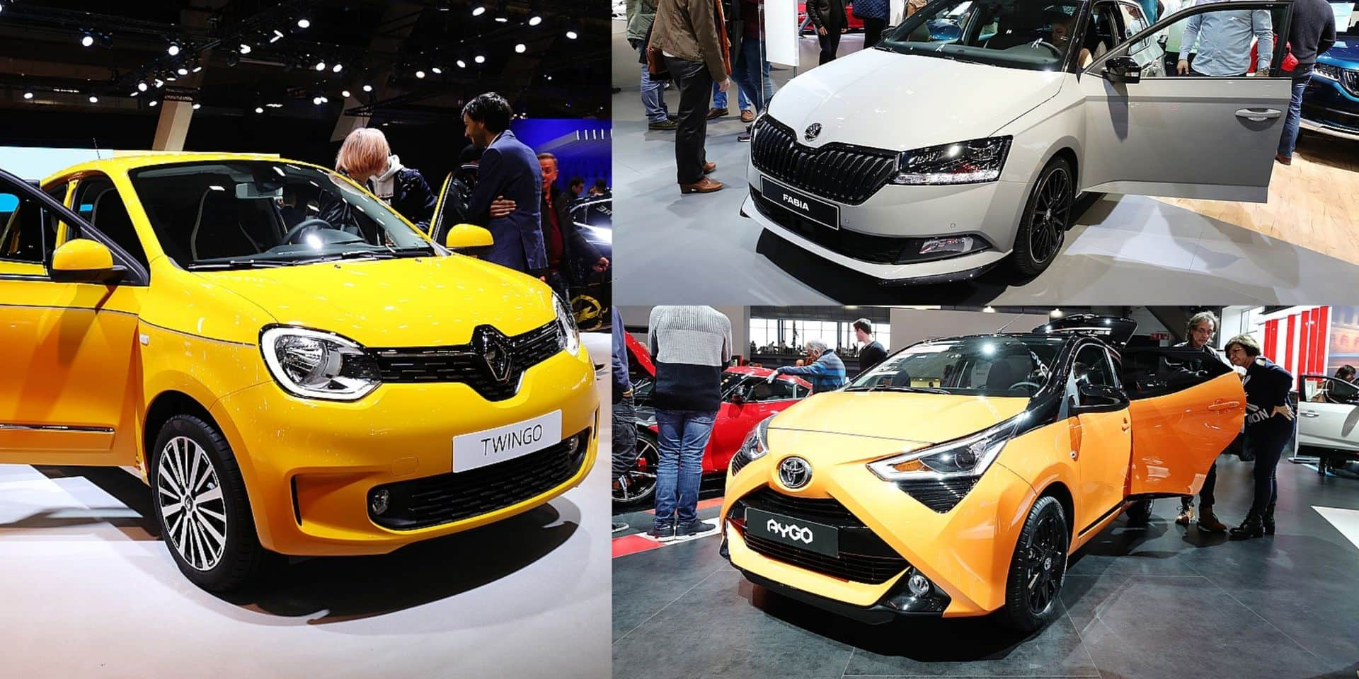 Quelles sont les voitures du Salon de l'Auto à moins de 10.000 € ?