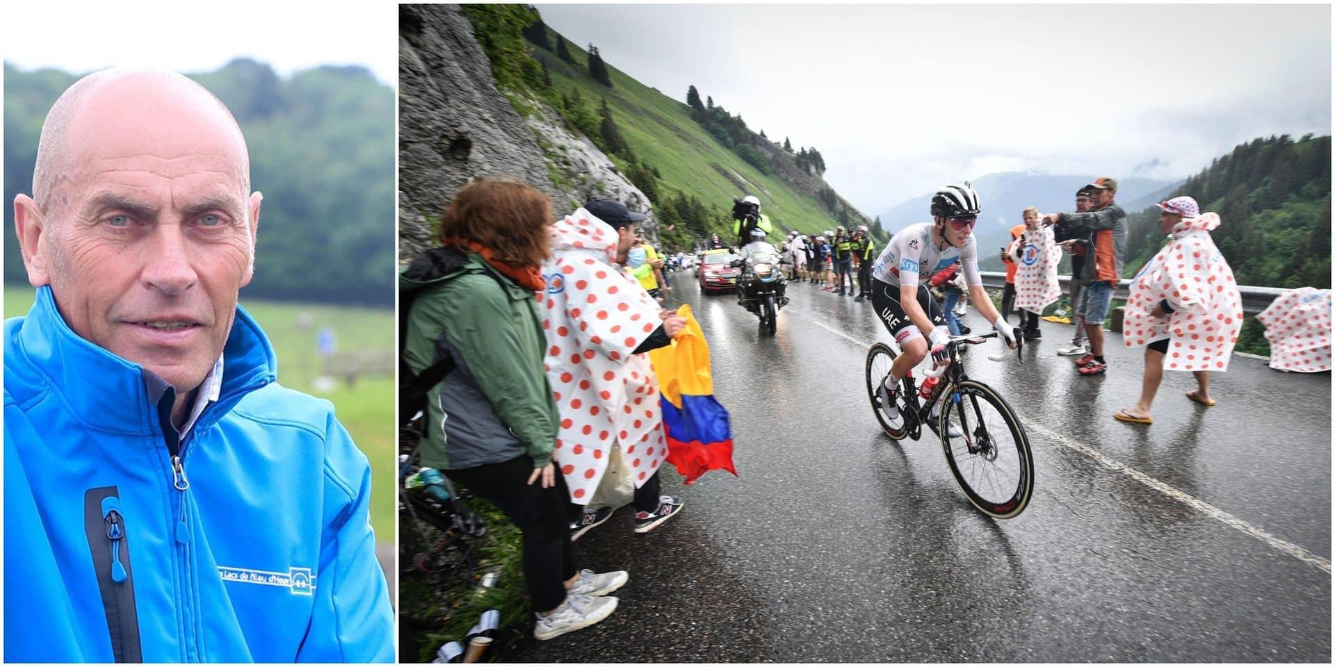 """L'avis de notre consultant Jean-Luc Vandenbroucke sur le show Pogacar: """"Une démonstration à la Merckx ou à la Hinault"""""""