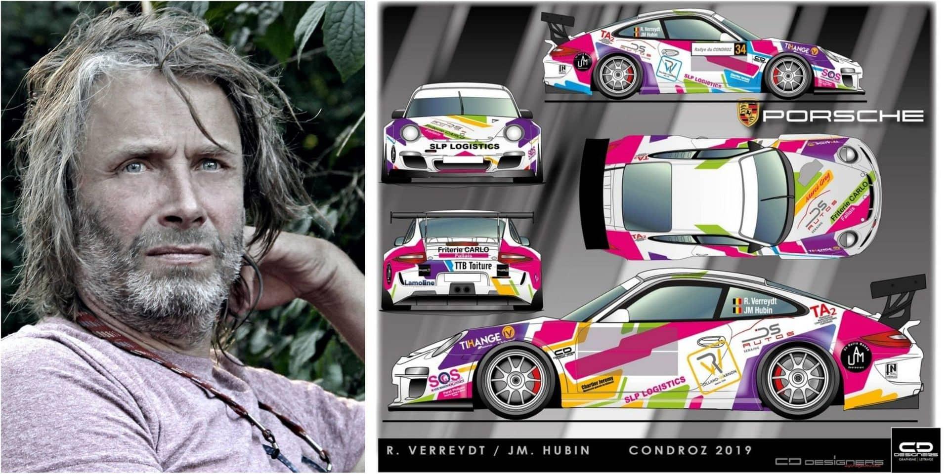 """Renaud Verreydt avant le rallye du Condroz: """"Cette Porsche, c'est vraiment tout ce que j'aime..."""""""