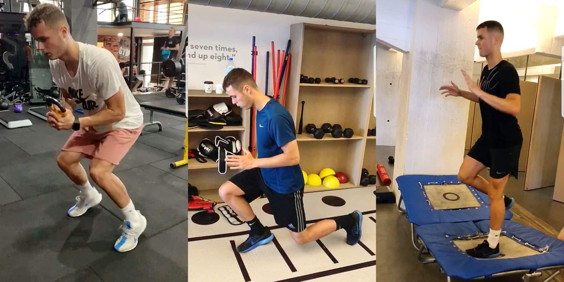 """Lieven Maaeschalck s'exprime sur la blessure de Vanheusden : """"Zinho a une force mentale incroyable"""""""