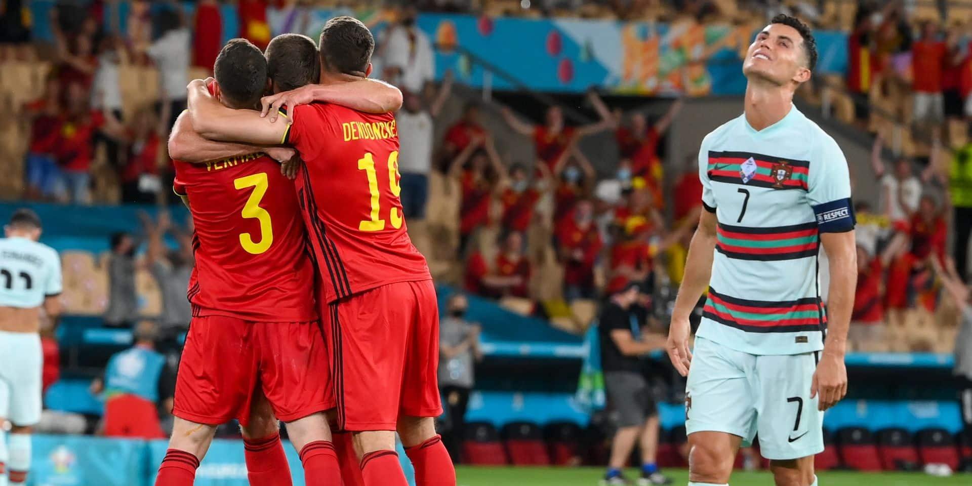 Vermaelen homme du match, Courtois décisif, CR7 décevant: les notes après Belgique - Portugal