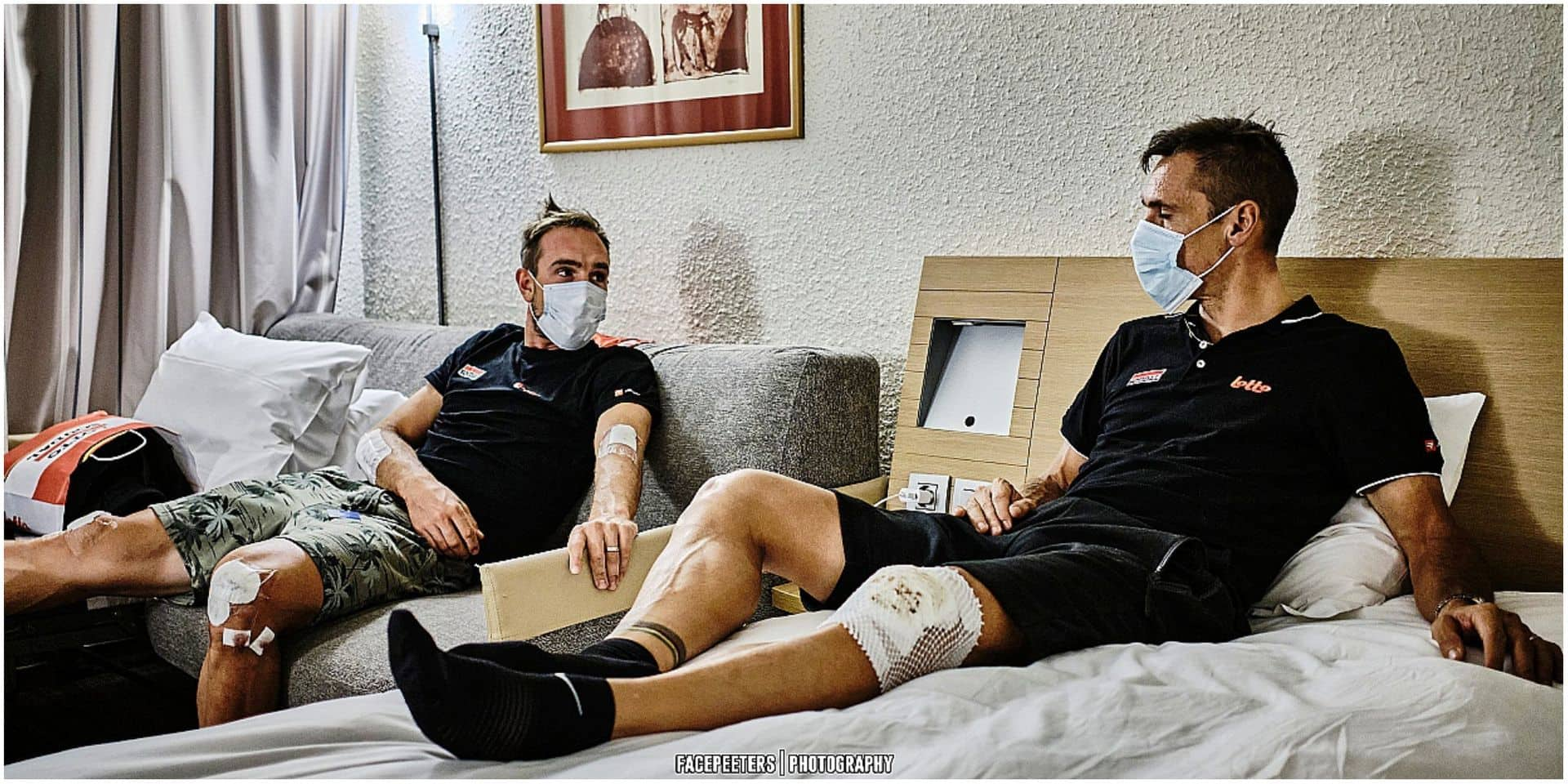 """Fracture confirmée pour Philippe Gilbert: """"Aucune date de reprise n'a été fixée"""""""