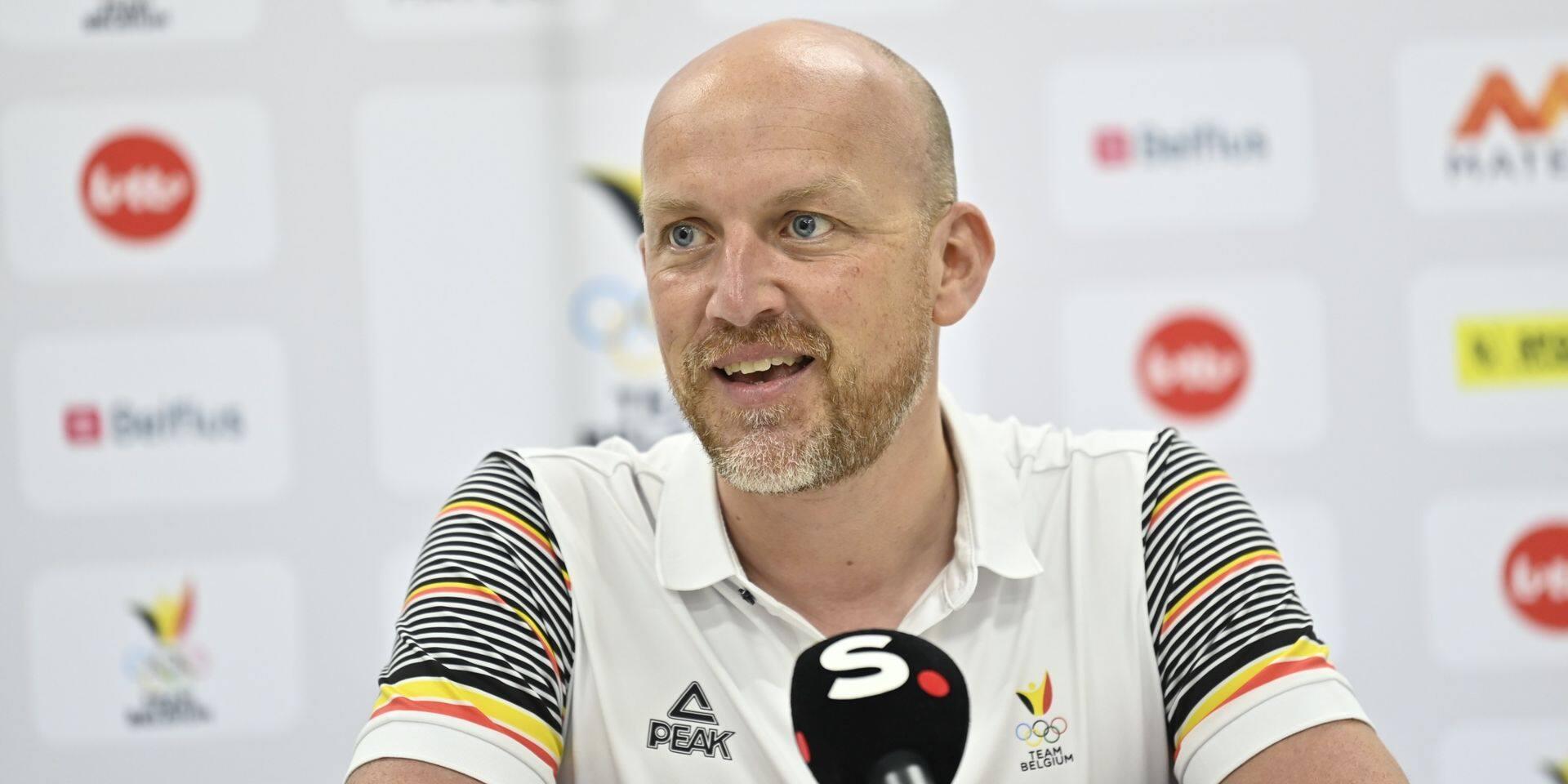"""Le chef de délégation du Team Belgium, Olav Spahl est satisfait de la préparation: """"Je ressens le désir de gagner"""""""