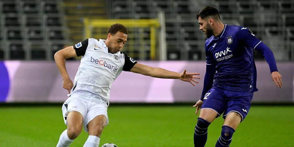 Anderlecht s'incline dans les dernières minutes face à Genk (1-2)