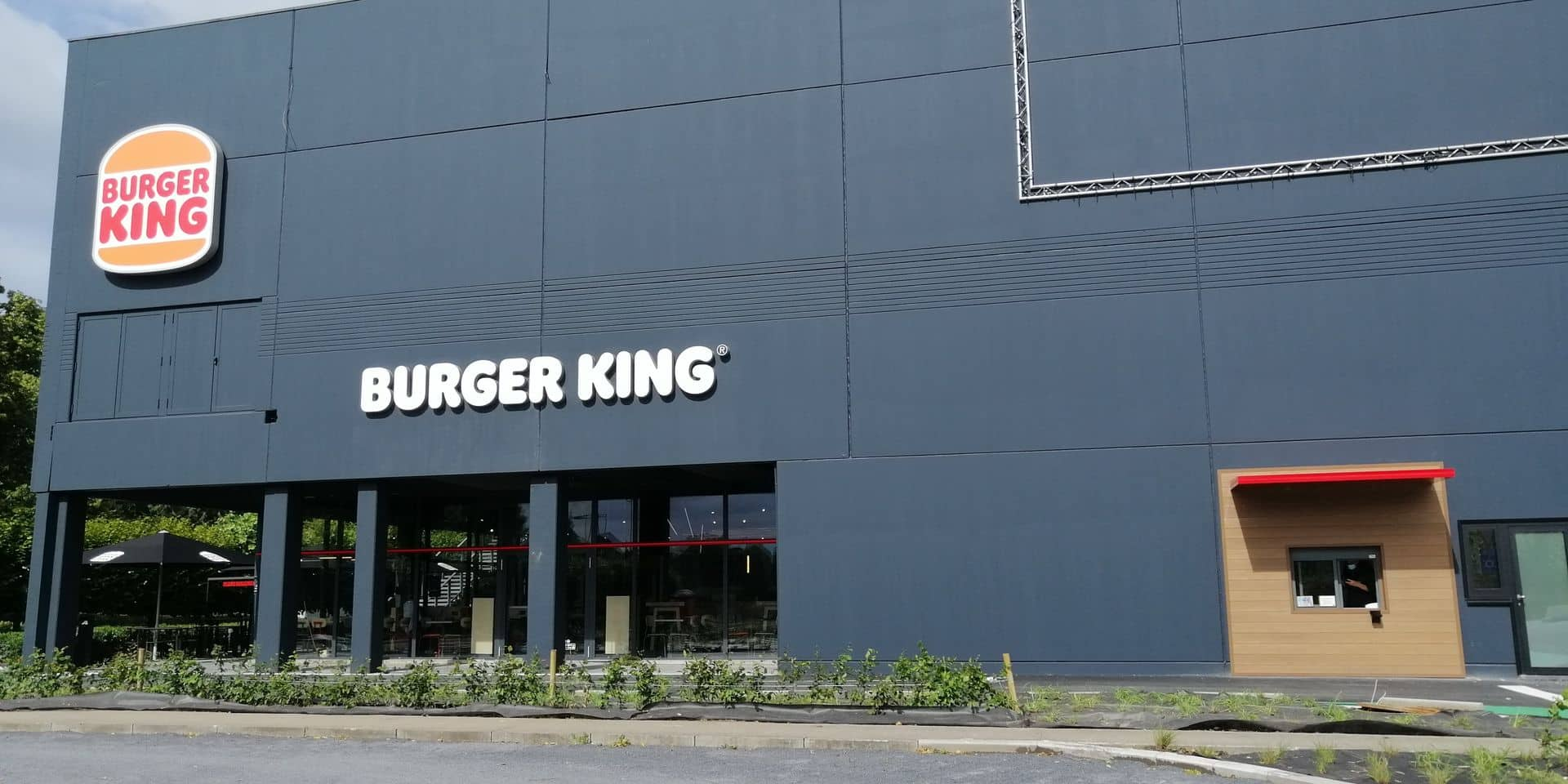 Tournai: l'enseigne Burger King ouvre ses portes à Imagix