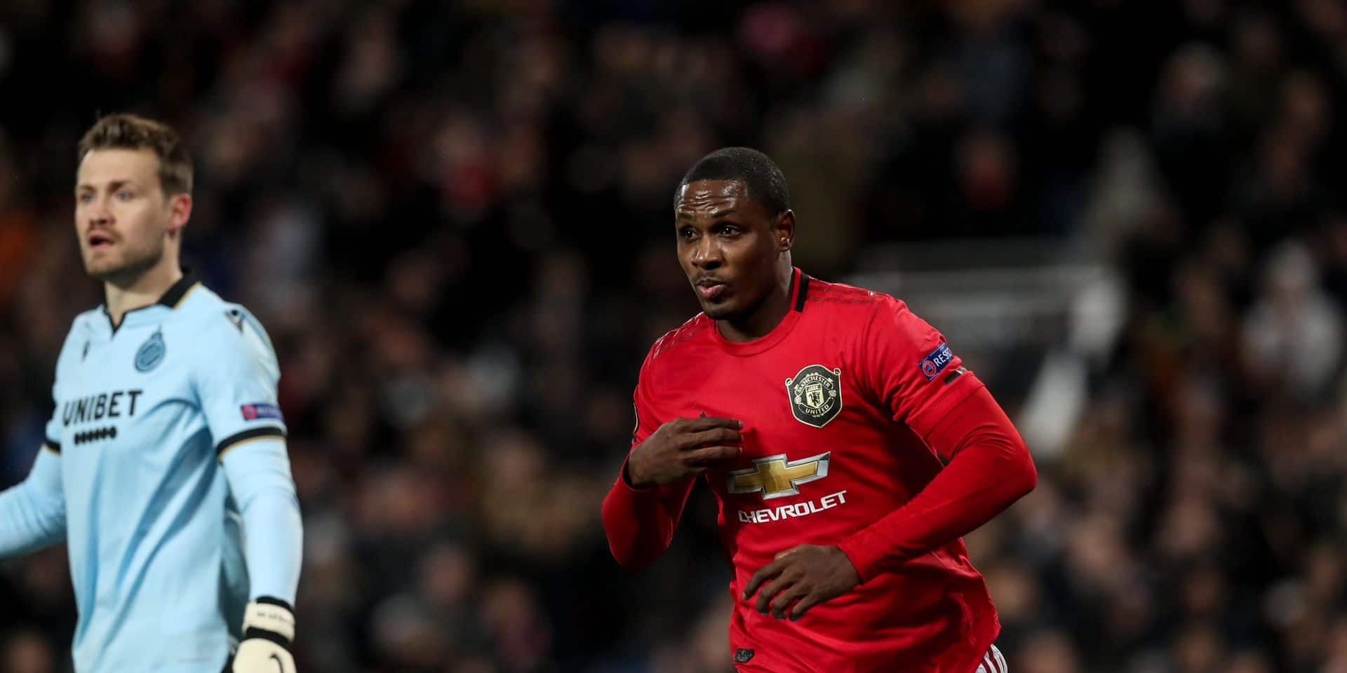 Manchester United prolonge le prêt d'Odion Ighalo