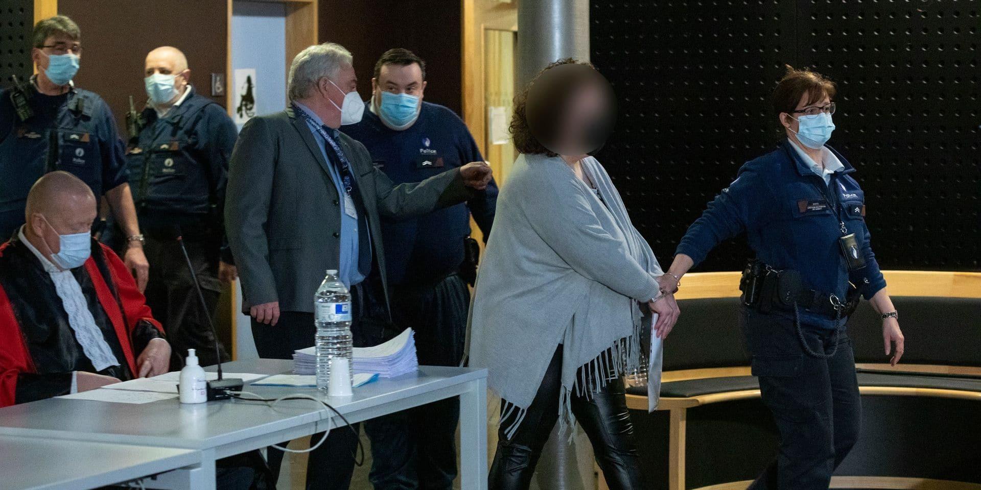 Assises Hainaut : Marjorie Leclercq décrite comme une femme plaintive et autocentrée par les experts