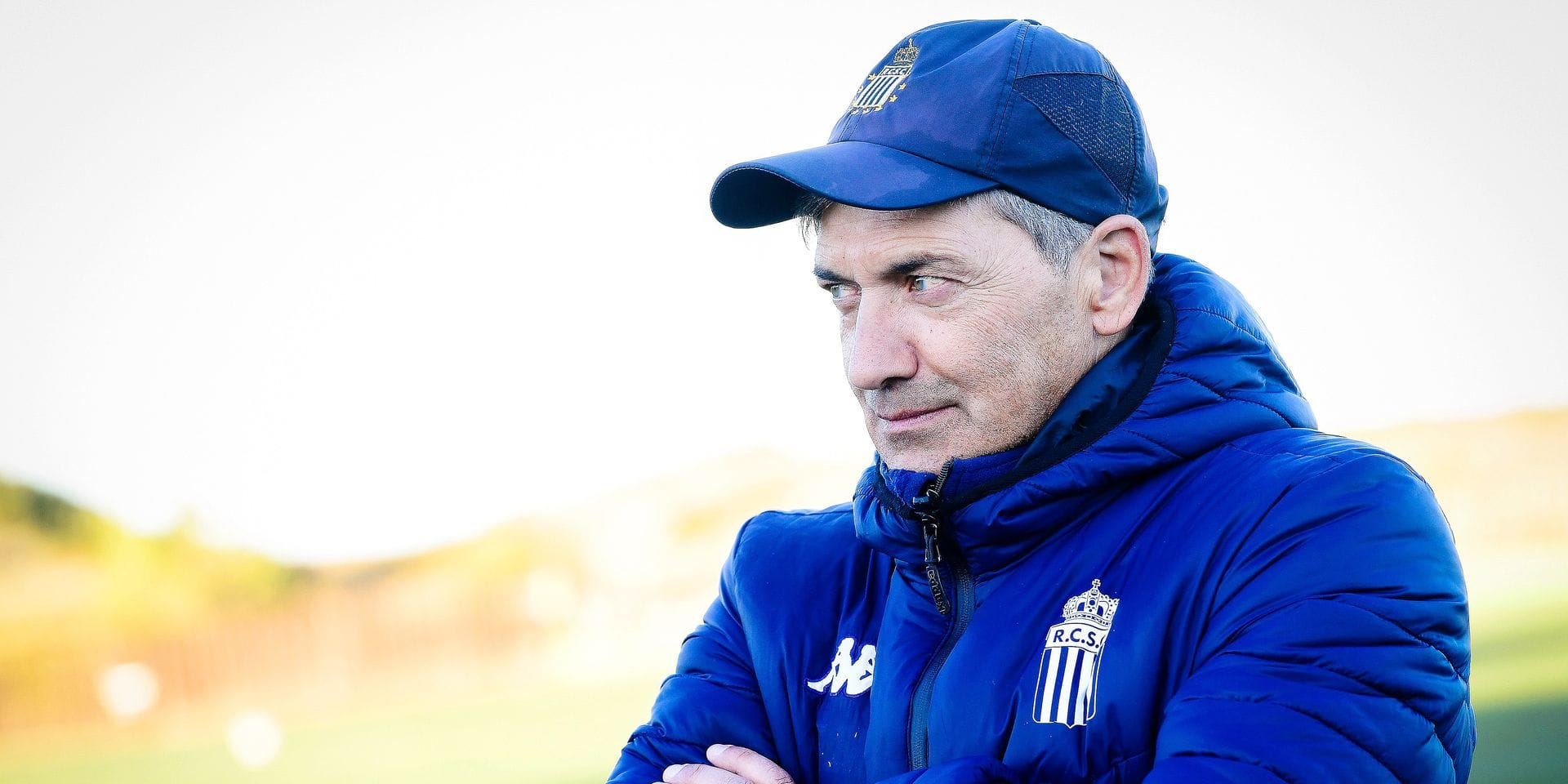 Charleroi's head coach Felice Mazzu pictured during the afternoon training on the sixth day of the winter training camp of Belgian first division soccer team Sporting Charleroi, in Valencia, Spain, Thursday 10 January 2019. BELGA PHOTO LAURIE DIEFFEMBACQ