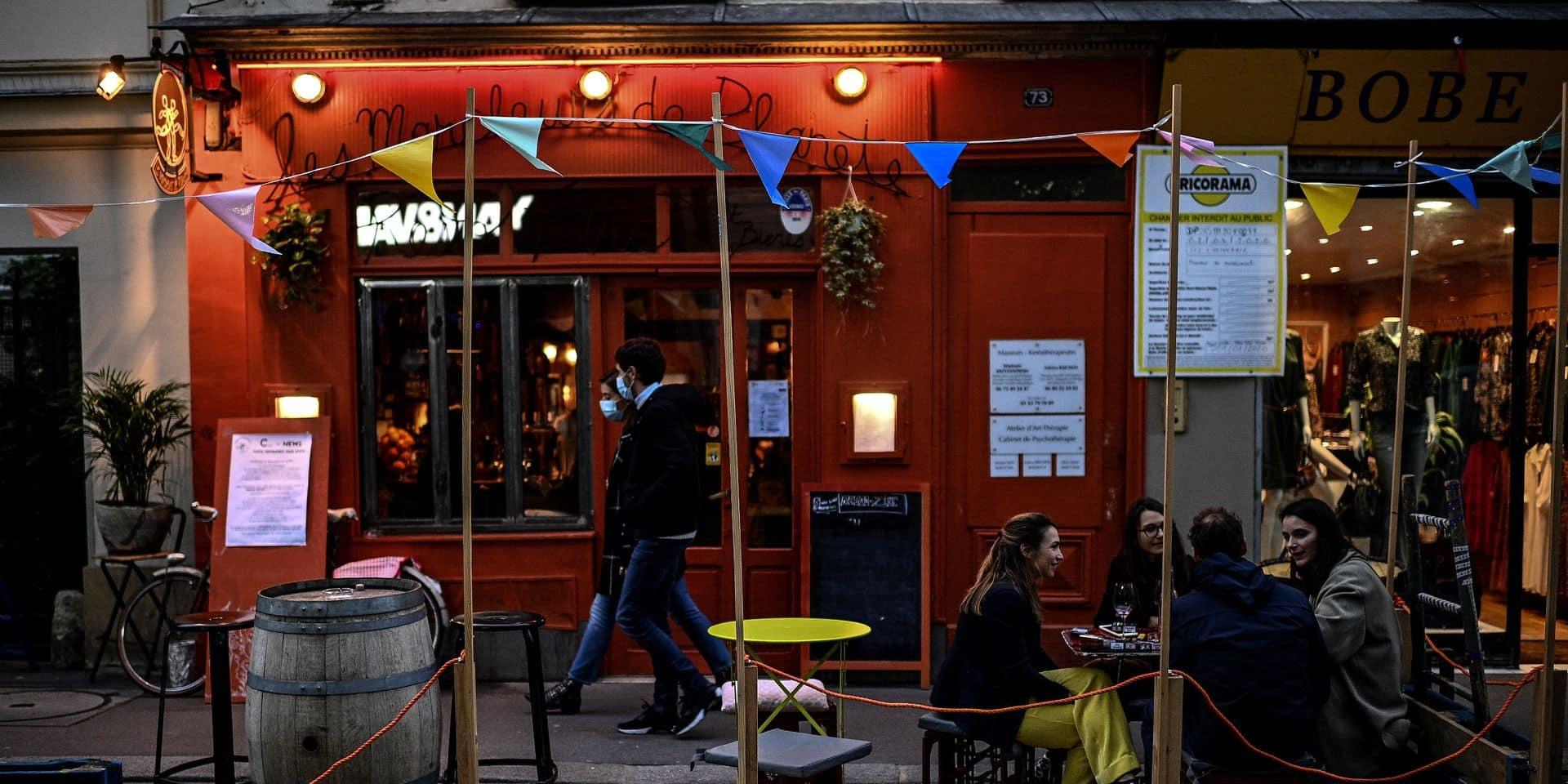 On se dirige vers une fermeture des bars à Paris