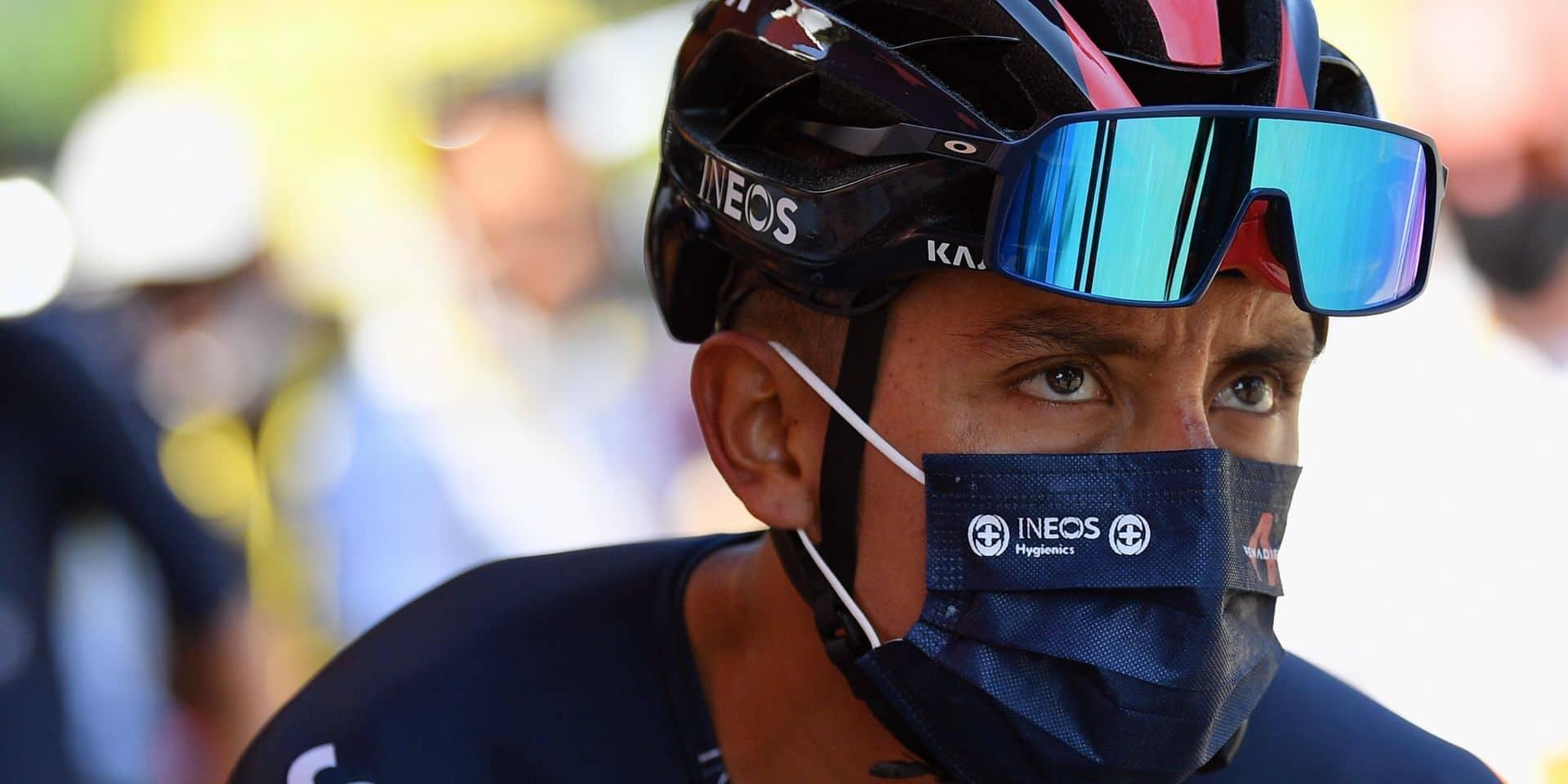 Egan Bernal espère retrouver ses sensations au Giro