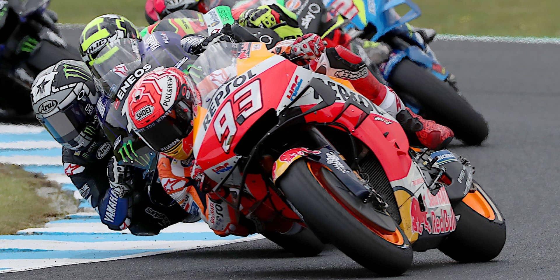 Marc Marquez remporte le Grand Prix moto d'Australie