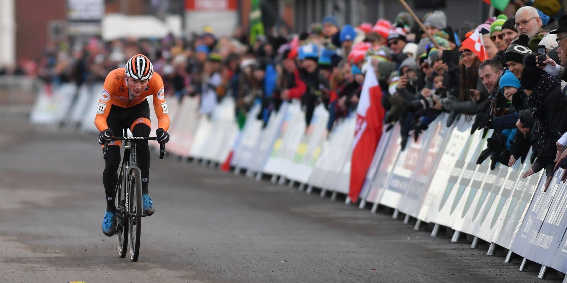 Mathieu Van der Poel est champion du monde de cyclo-cross