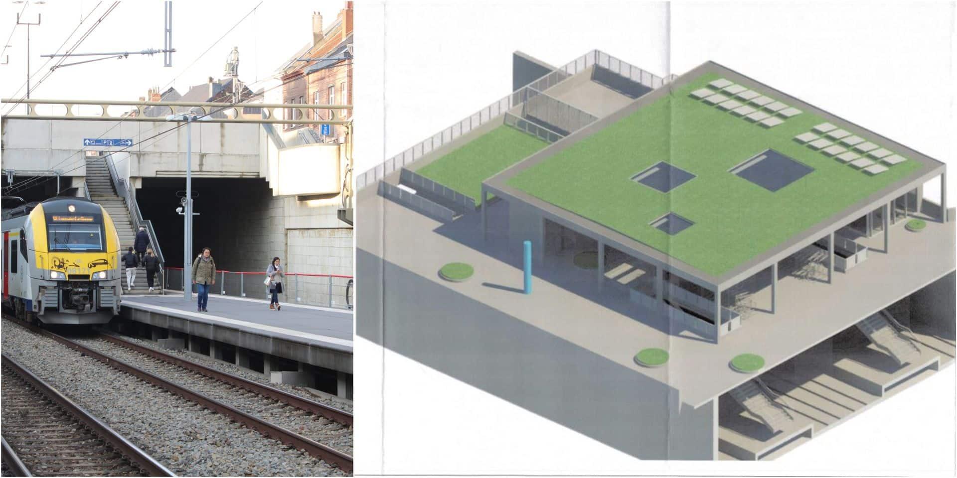 Un nouveau bâtiment voyageurs pour la gare de Rixensart