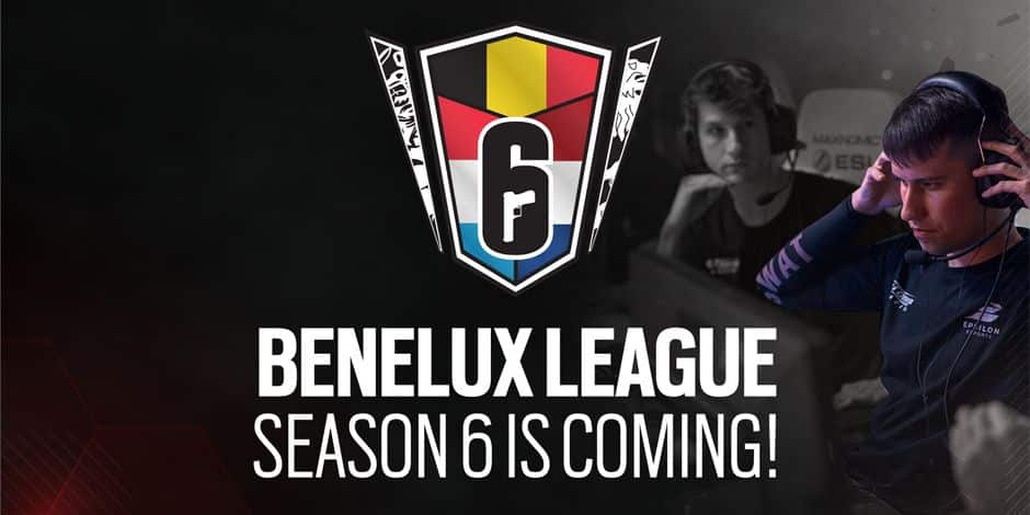 La Rainbow Six Benelux League annonce sa sixième saison