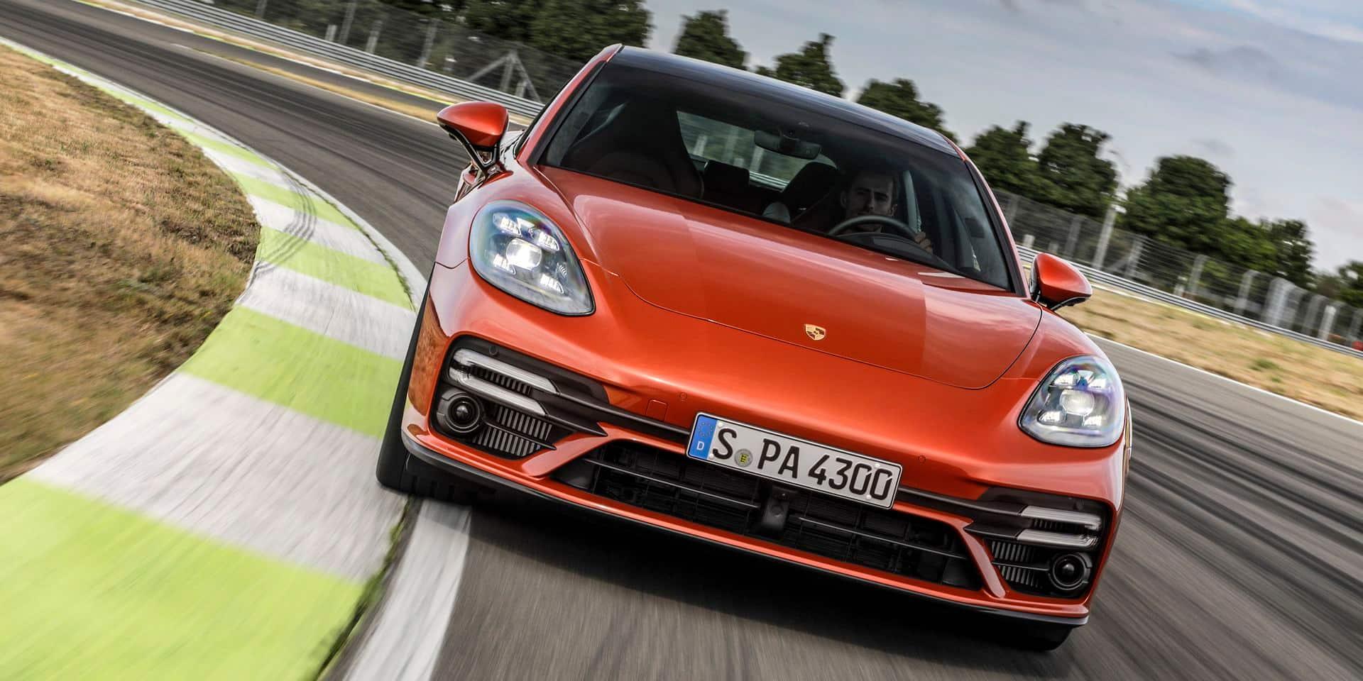 Porsche Panamera: plus de puissance et moins de CO2