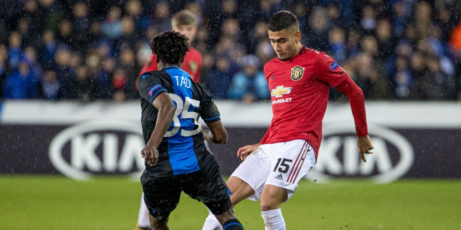 Découvrez toutes les réactions en vidéo après Club Bruges - Manchester United