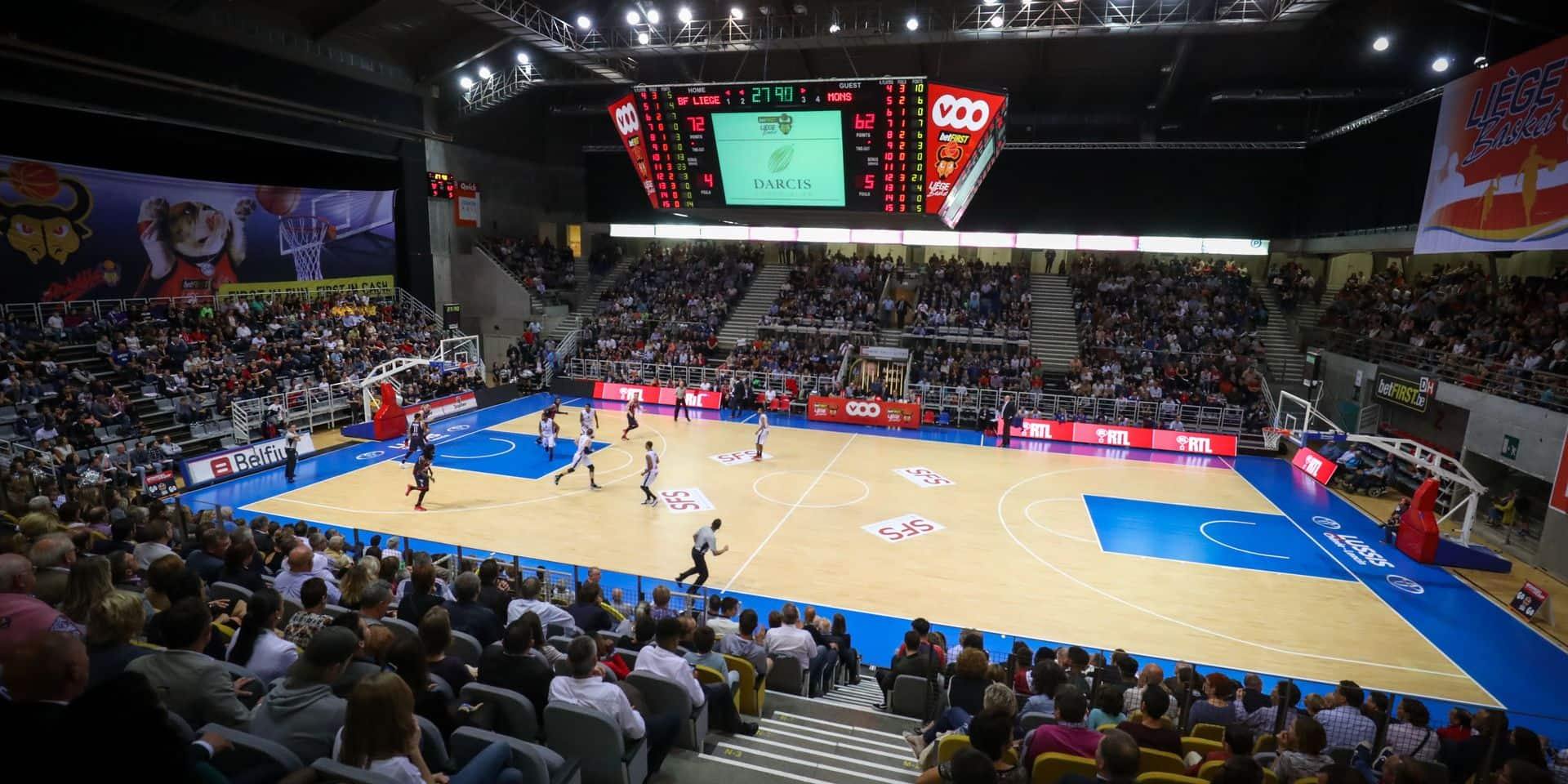 """Christophe Muytjens, directeur général de Liège Basket, tire la sonnette d'alarme : """"La moitié des clubs sont en danger"""""""