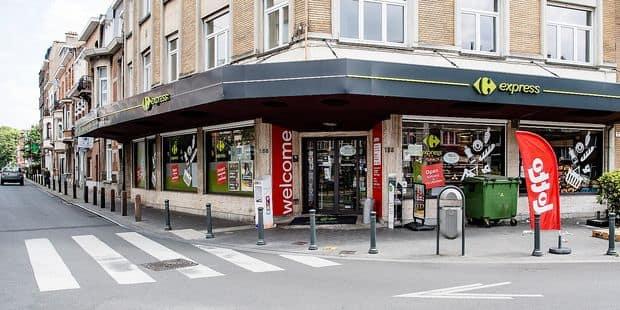 Braquages en série au Carrefour Market de Jette - La DH