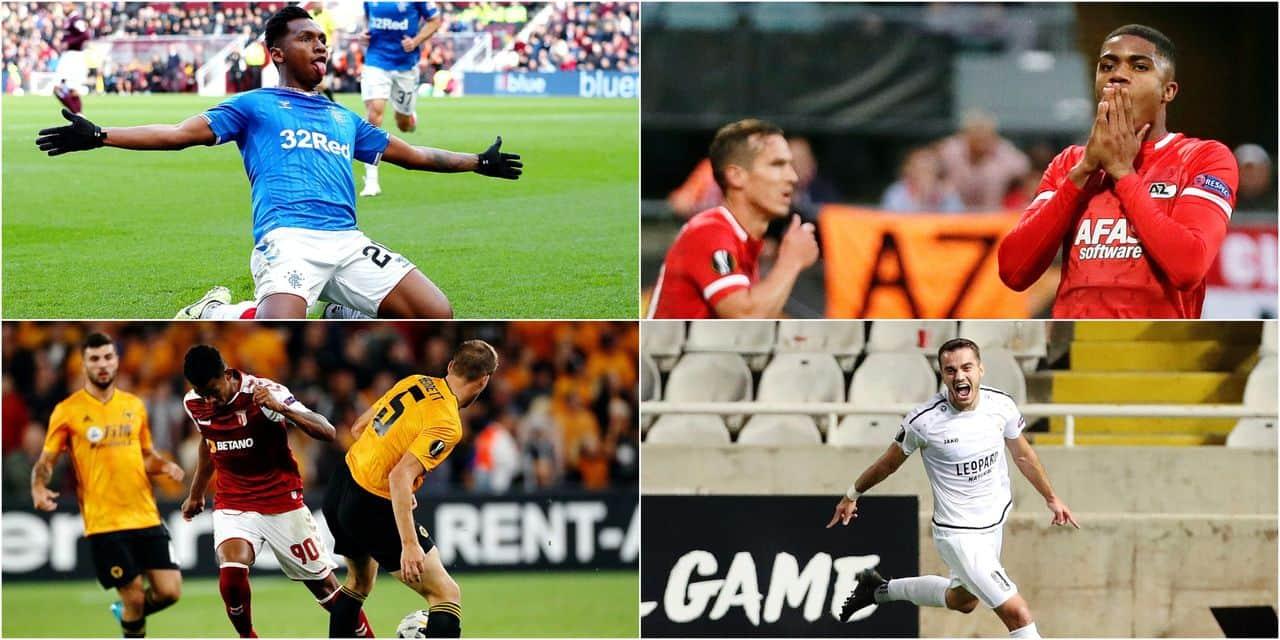 Les révélations du jeudi: quand l'Europa League voit l'éclosion de plusieurs pépites