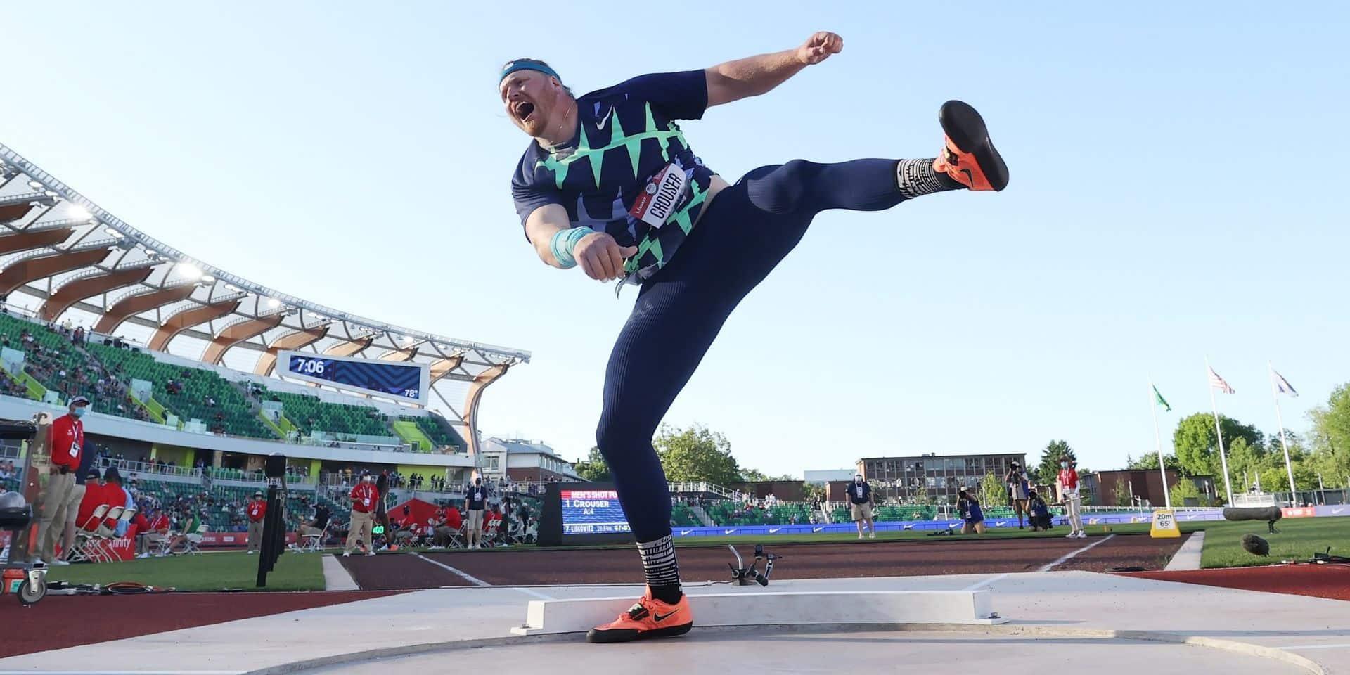 Ryan Crouser frappe très fort aux portes de Tokyo en battant le record du monde de sa spécialité
