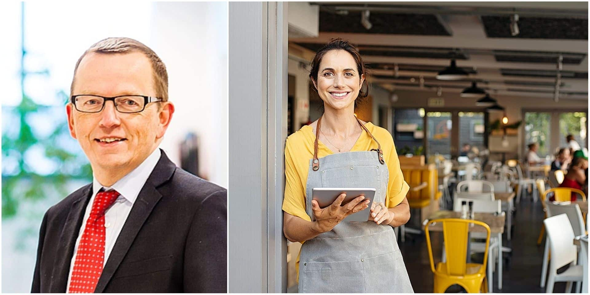 """Il y a aussi de belles opportunités dans l'Horeca : """"Il y a encore de bons employeurs, de bonnes sociétés et c'est un métier où il n'y a qu'un pas entre réceptionniste et manager"""""""