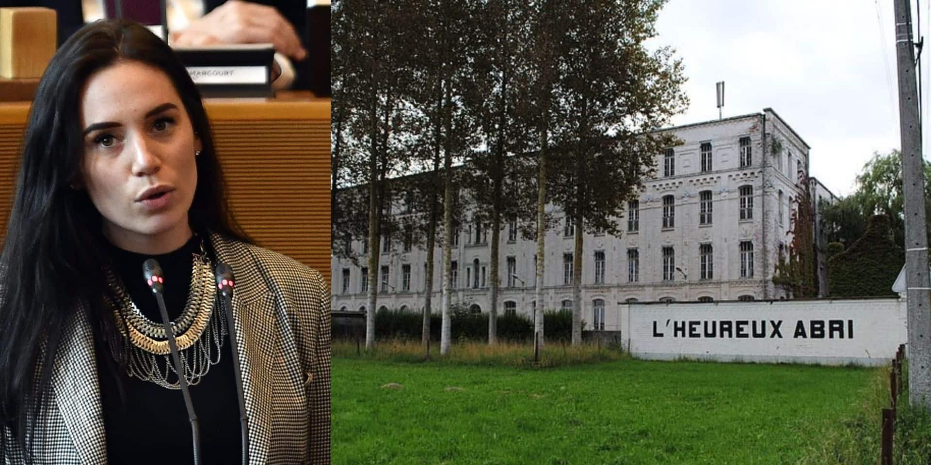 (à gauche) Rachel Sobry, qui doit interroger la directrice qui a démissionné. (à droite) l'école où a eu lieu les fraudes.