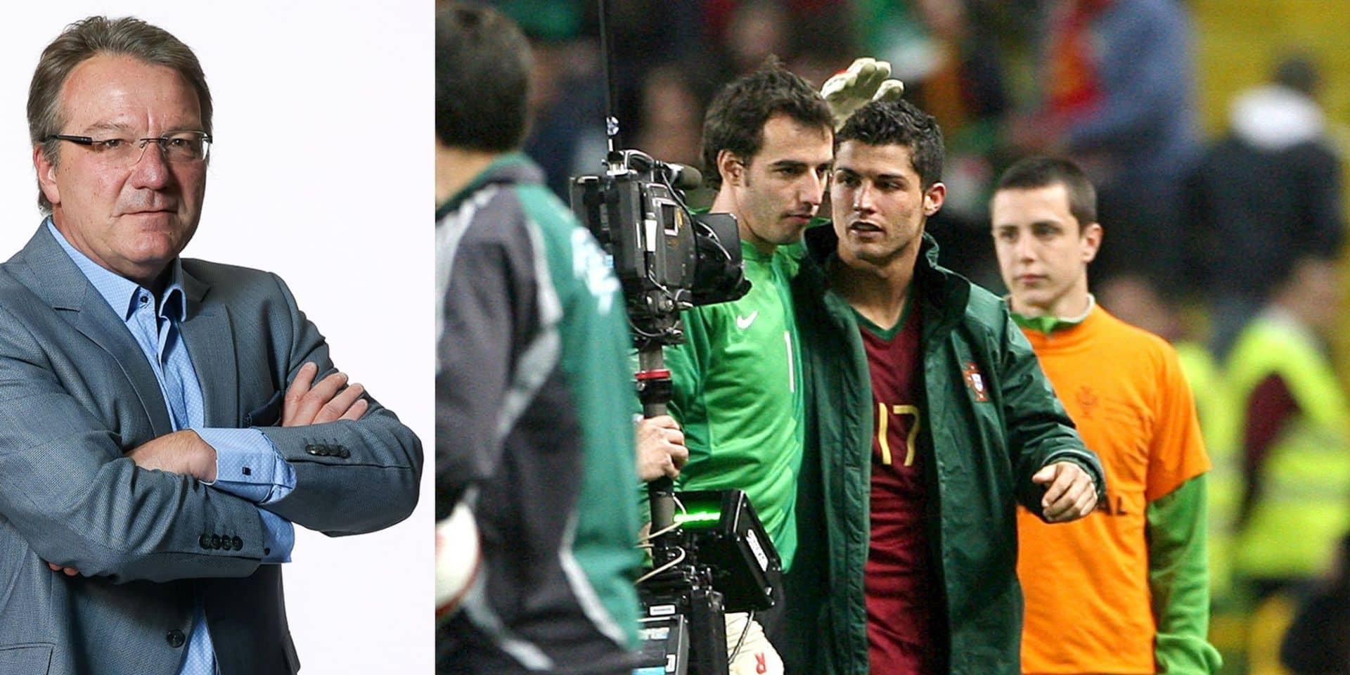 """La chronique de Jean-Marc Ghéraille : """"Fallait pas énerver Cristiano Ronaldo"""""""