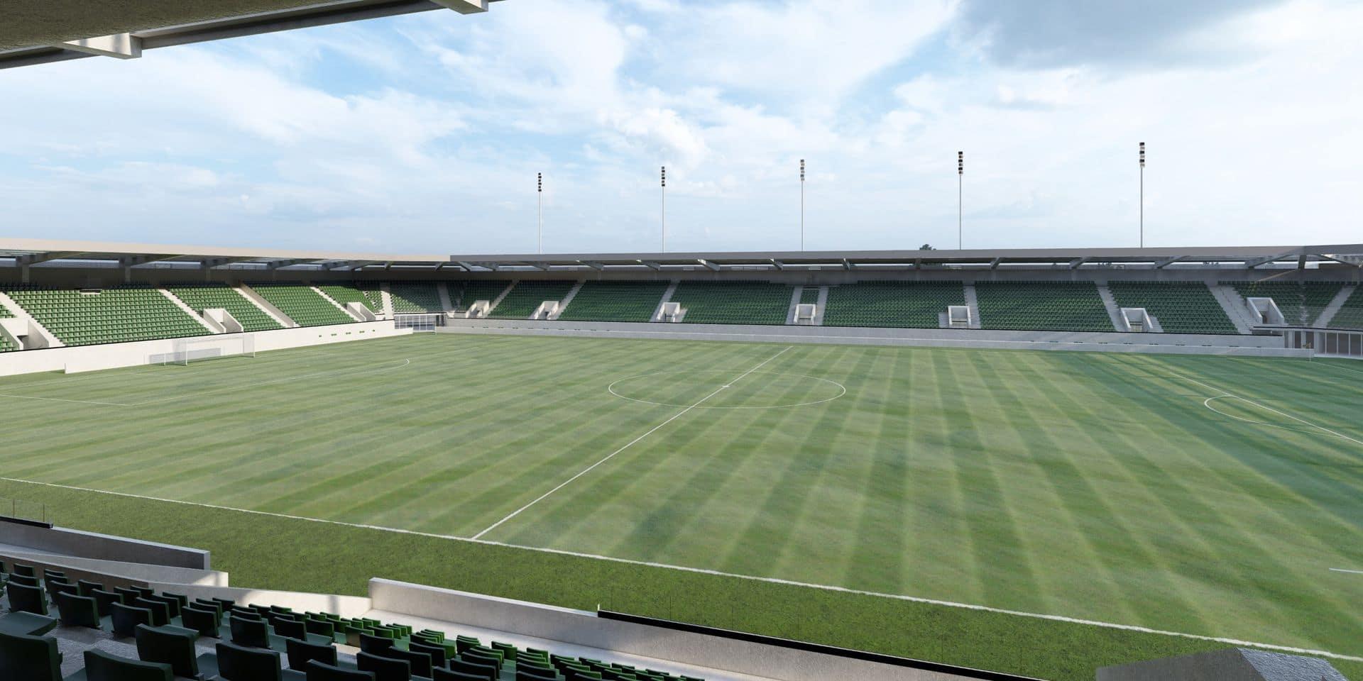 """Nouveau stade de la RAAL à La Louvière: le nom Wanty """"devrait plus que probablement figurer dans le naming"""""""