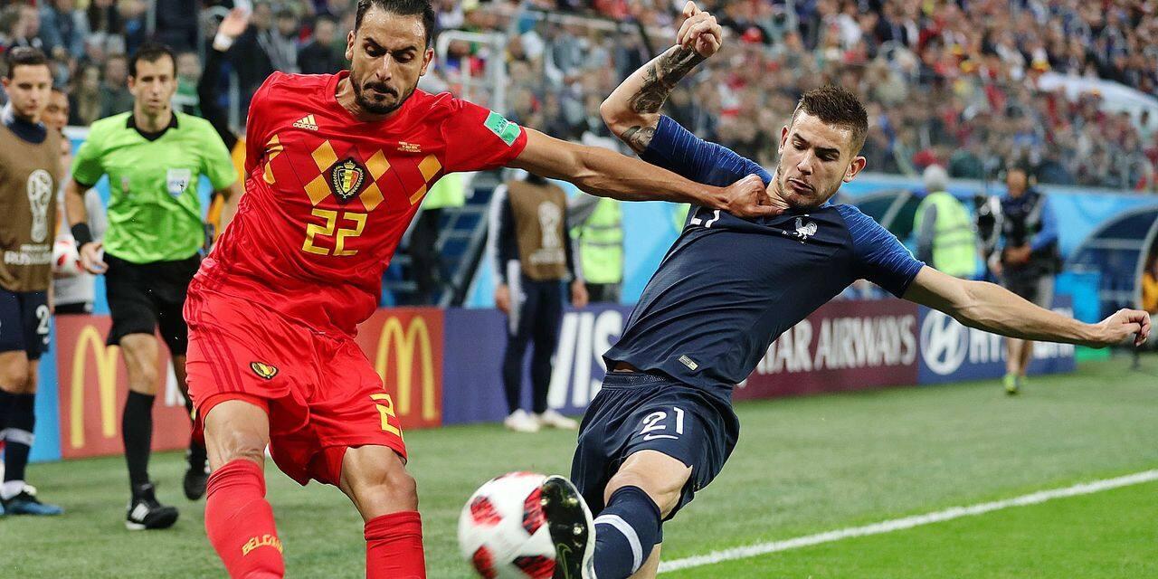 RUSSIA SAINT PETERSBURG 2018 WORLD CUP SEMIFINAL FRANCE VS BELGIUM