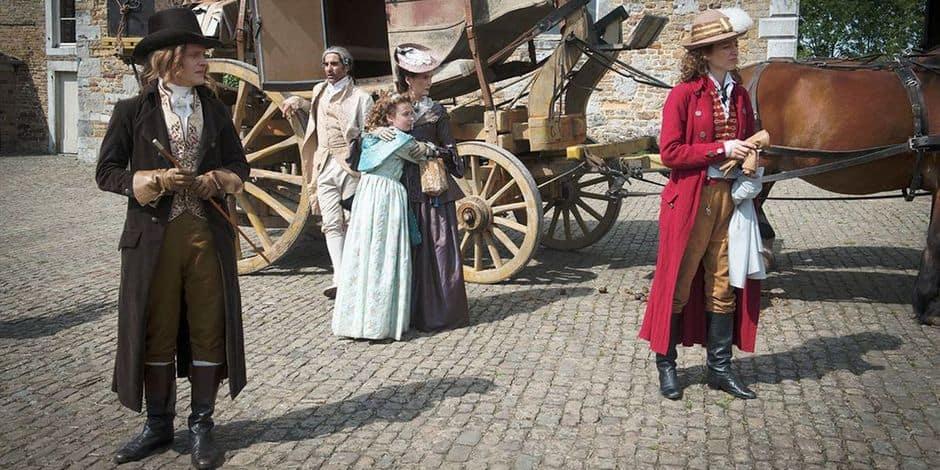 Des Visiteurs révolutionnaires à l'accent belge