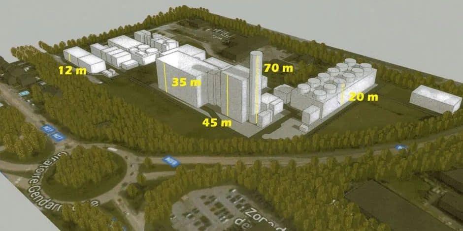 Projet de méga centrale thermique à Manage: Eneco étudie désormais les conditions de son permis
