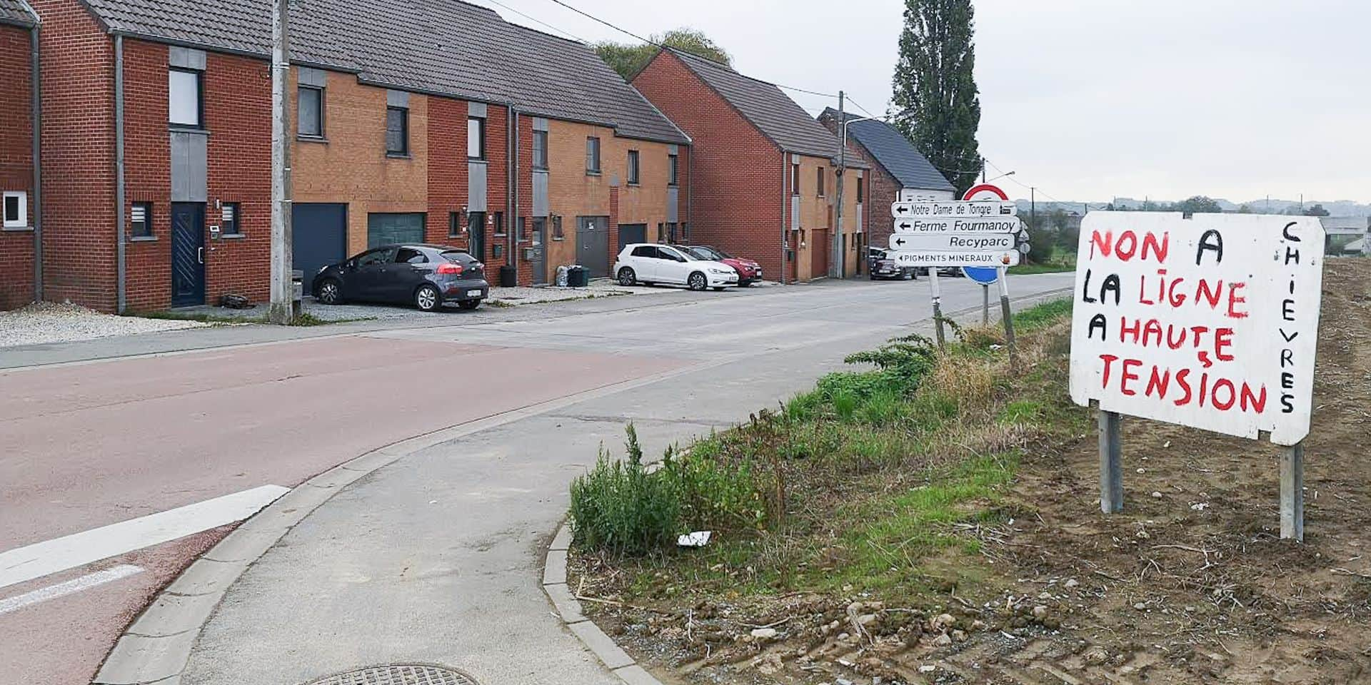 Chièvres: un non catégorique des élus sur le projet Elia !